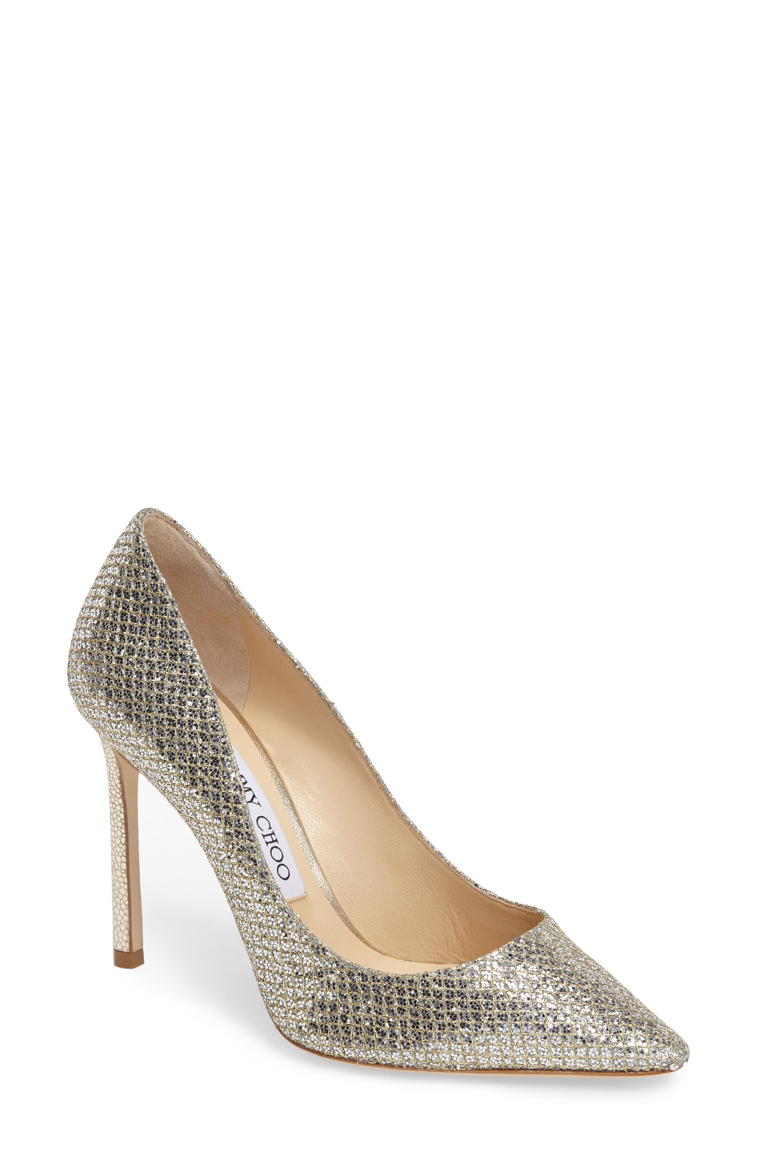 Romy Pointy Toe Pump,                             Main thumbnail 1, color,                             CHAMPAGNE