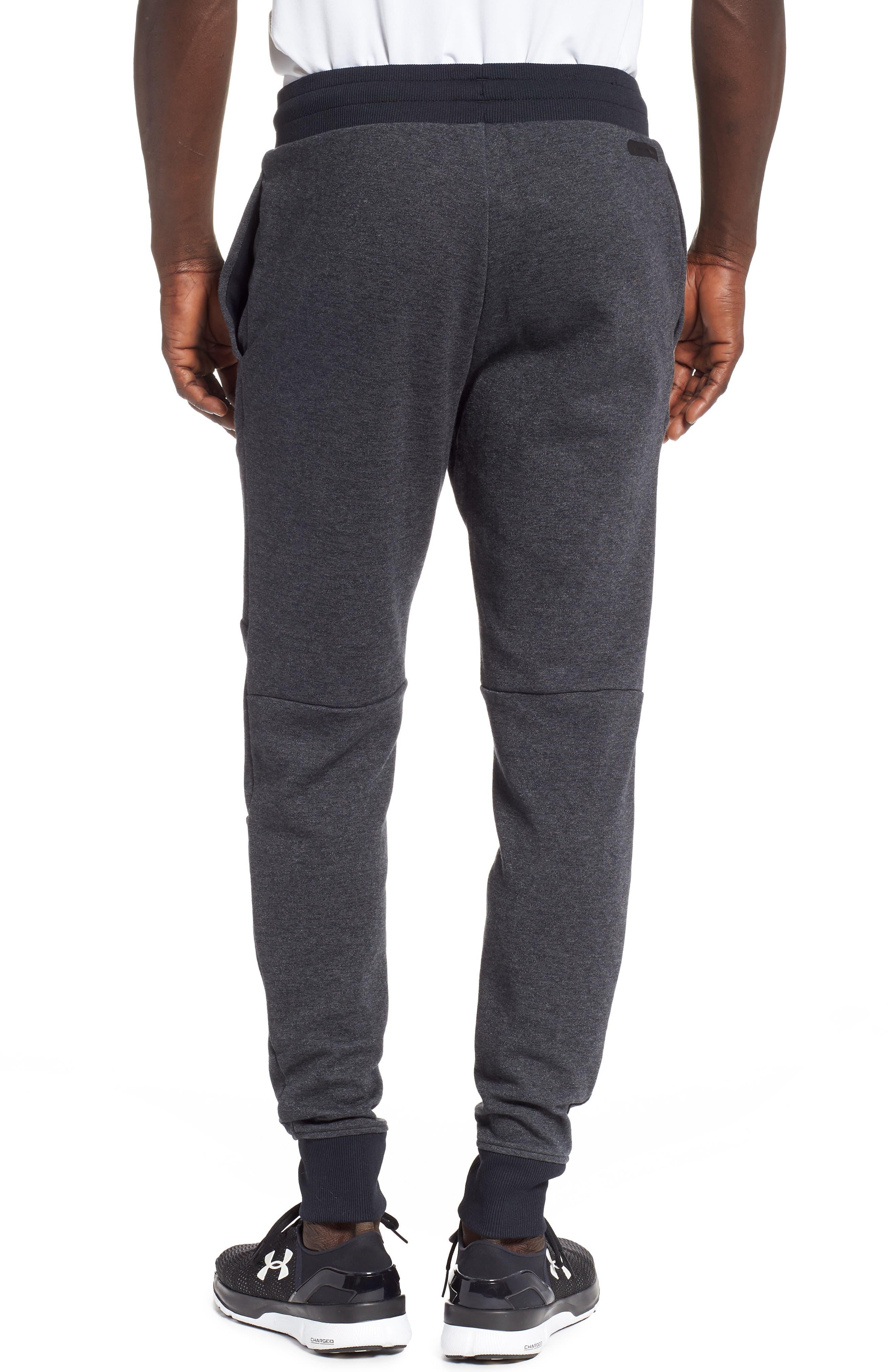 UNDER ARMOUR,                             Unstoppable Double Knit Jogger Pants,                             Alternate thumbnail 2, color,                             001