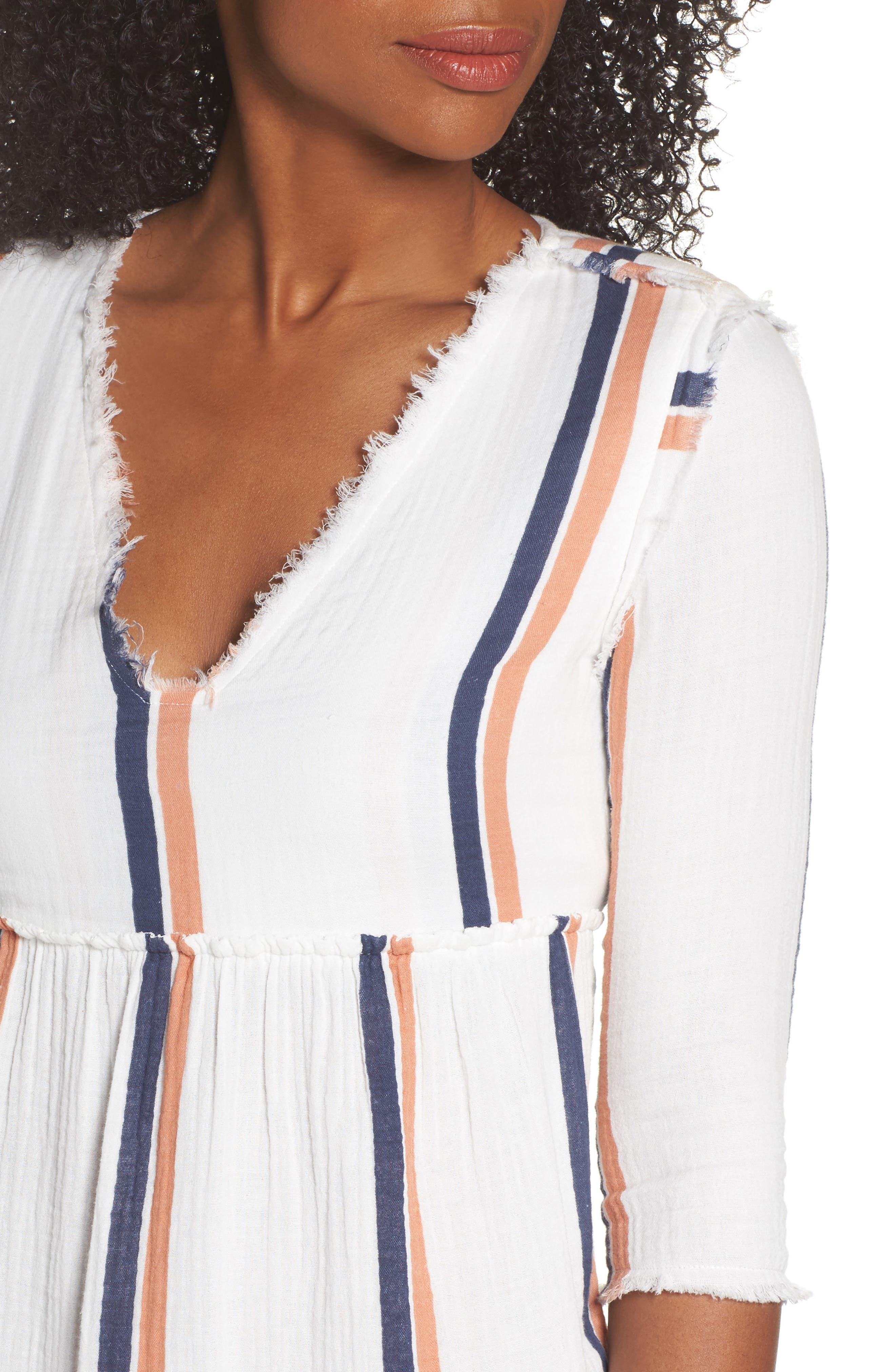 Oria Cover-Up Dress,                             Alternate thumbnail 4, color,                             AUGUSTUS DESERT CLAY