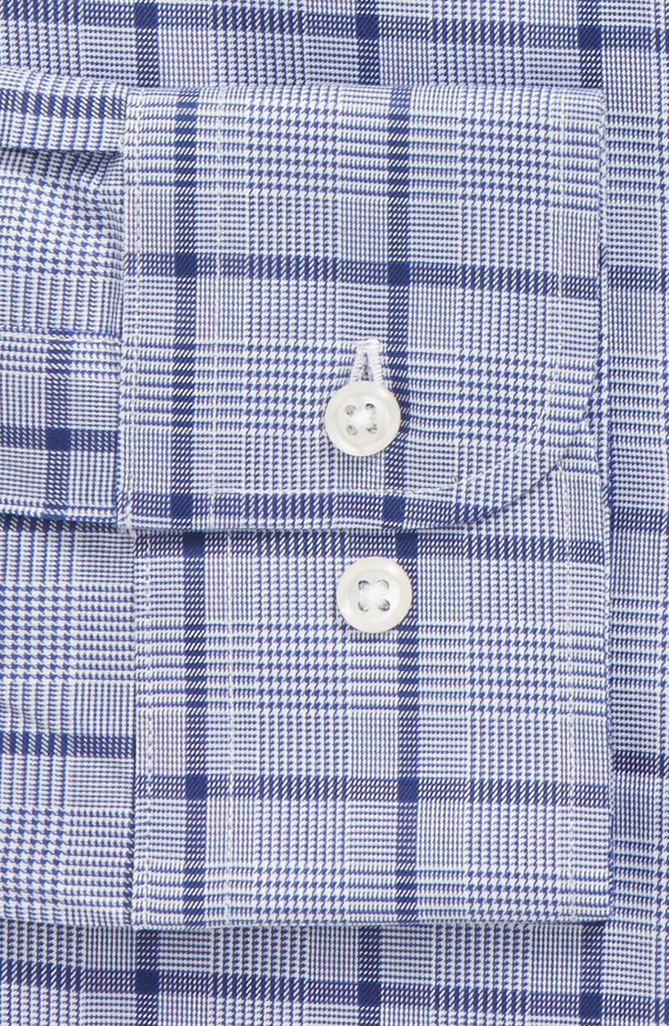 Traditional Fit Check Dress Shirt,                             Alternate thumbnail 6, color,                             420