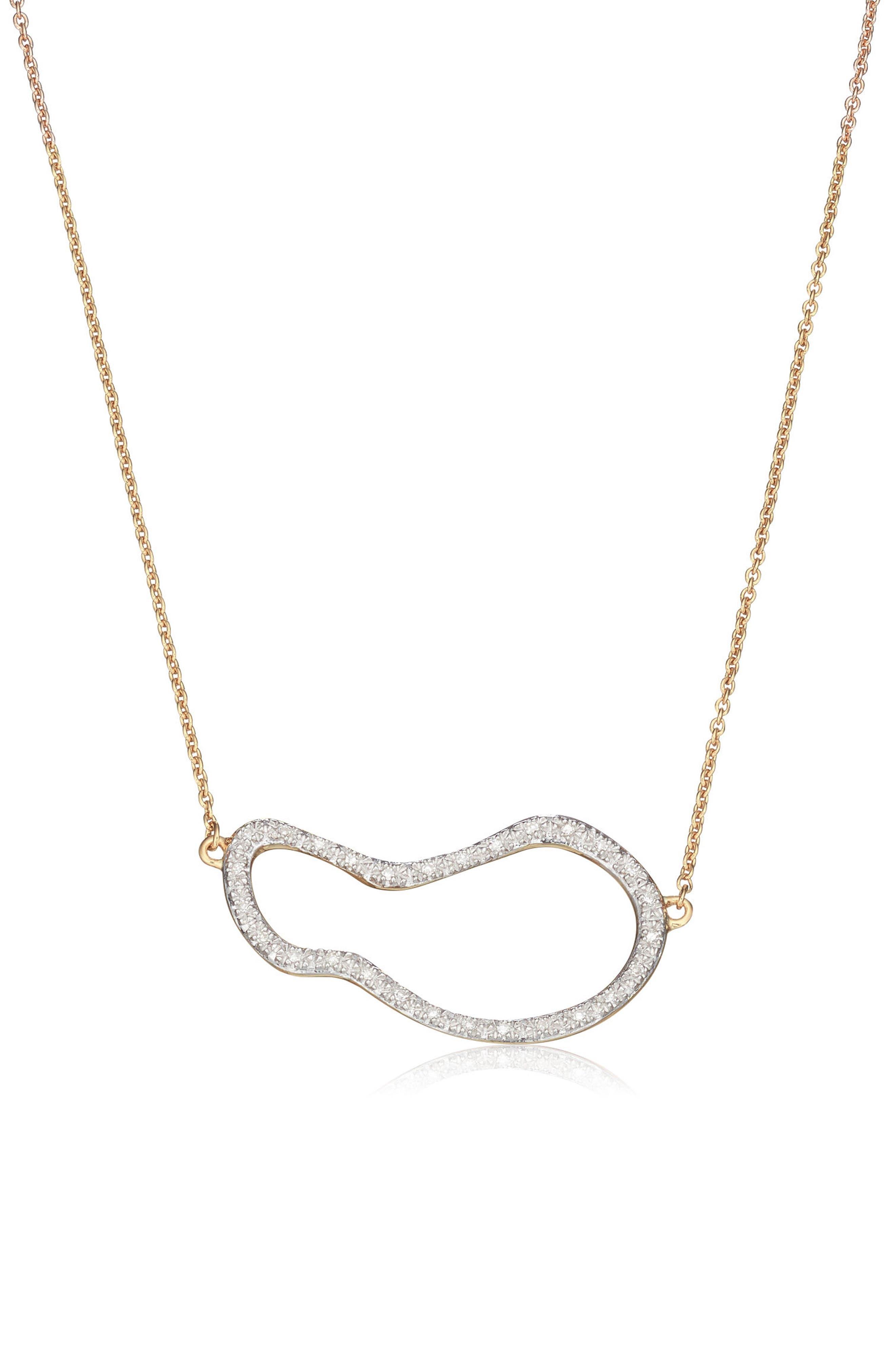 Riva Pod Diamond Pendant Necklace,                         Main,                         color, 715