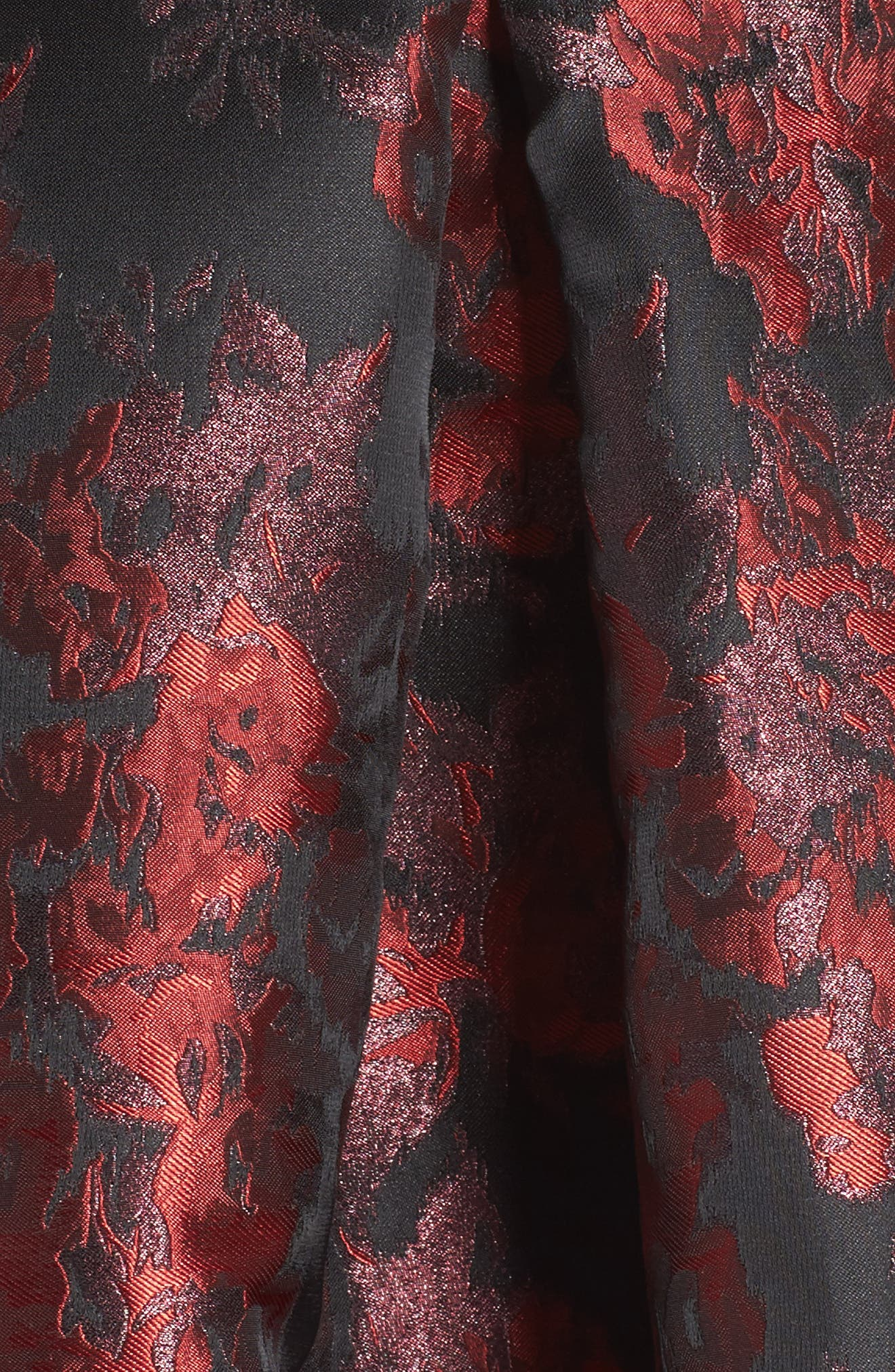 Jacquard High/Low Dress,                             Alternate thumbnail 5, color,