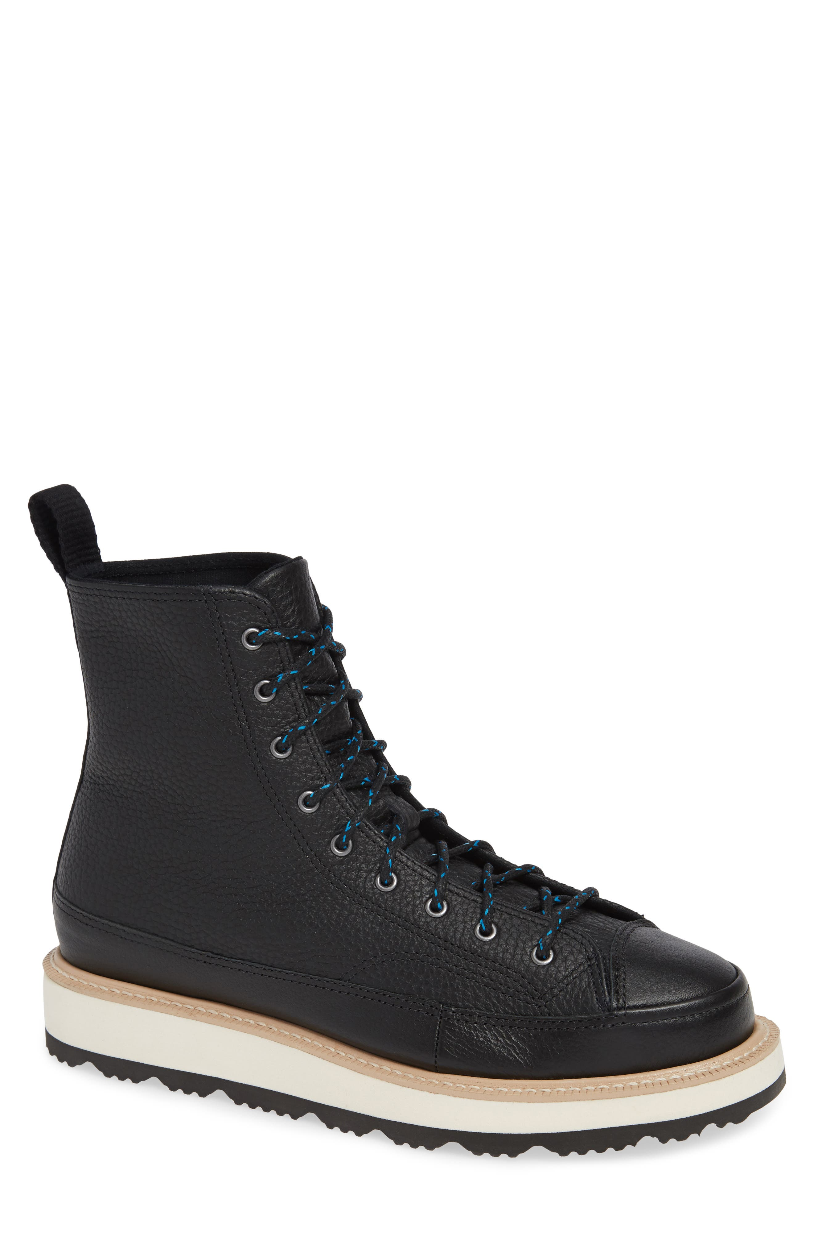 Chuck Taylor<sup>®</sup> Crafted Boot,                             Main thumbnail 1, color,                             BLACK/ LIGHT FAWN/ BLACK