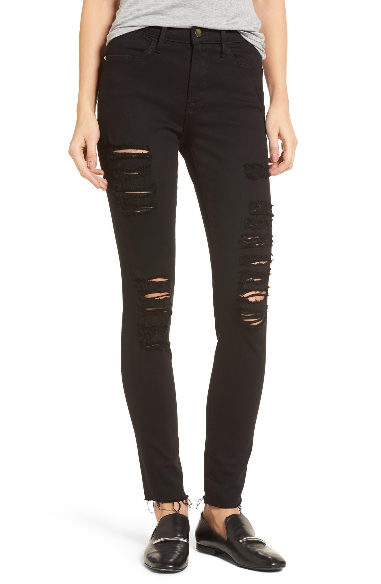 Le Color High Waist Skinny Jeans,                         Main,                         color, 003