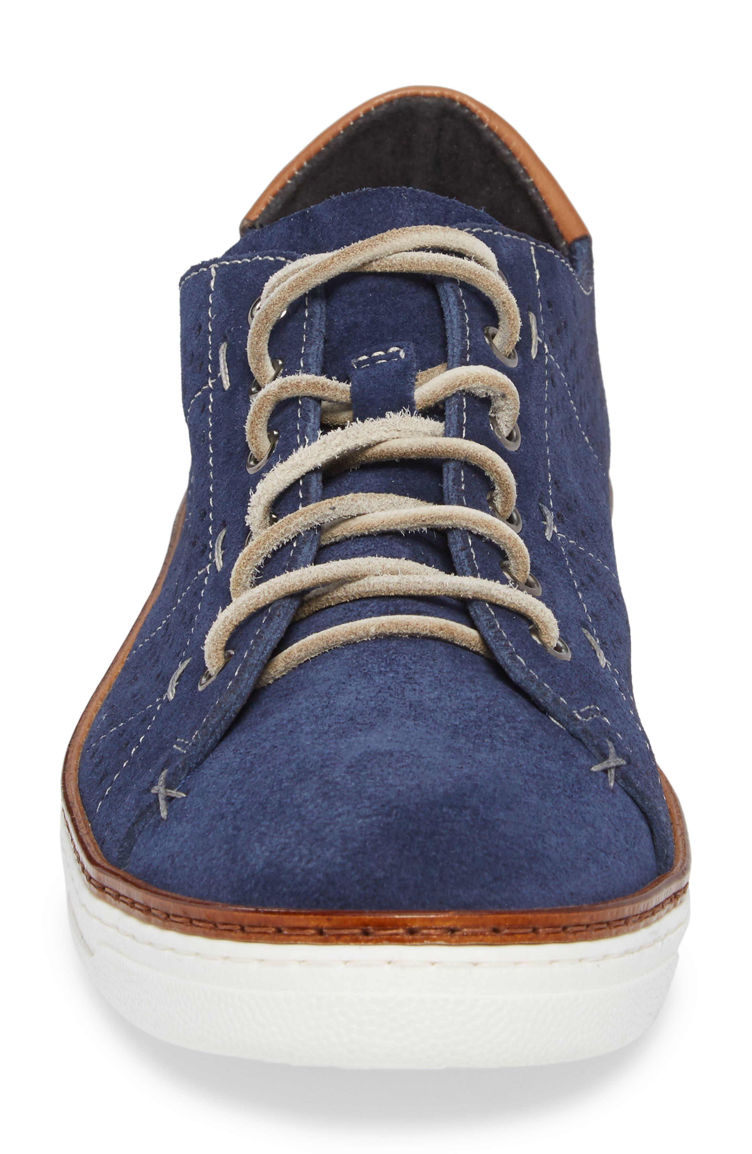 Jace Weatherproof Sneaker,                             Alternate thumbnail 4, color,                             JEANS