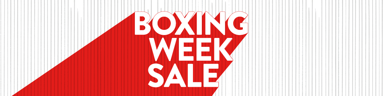 Boxing week sale.