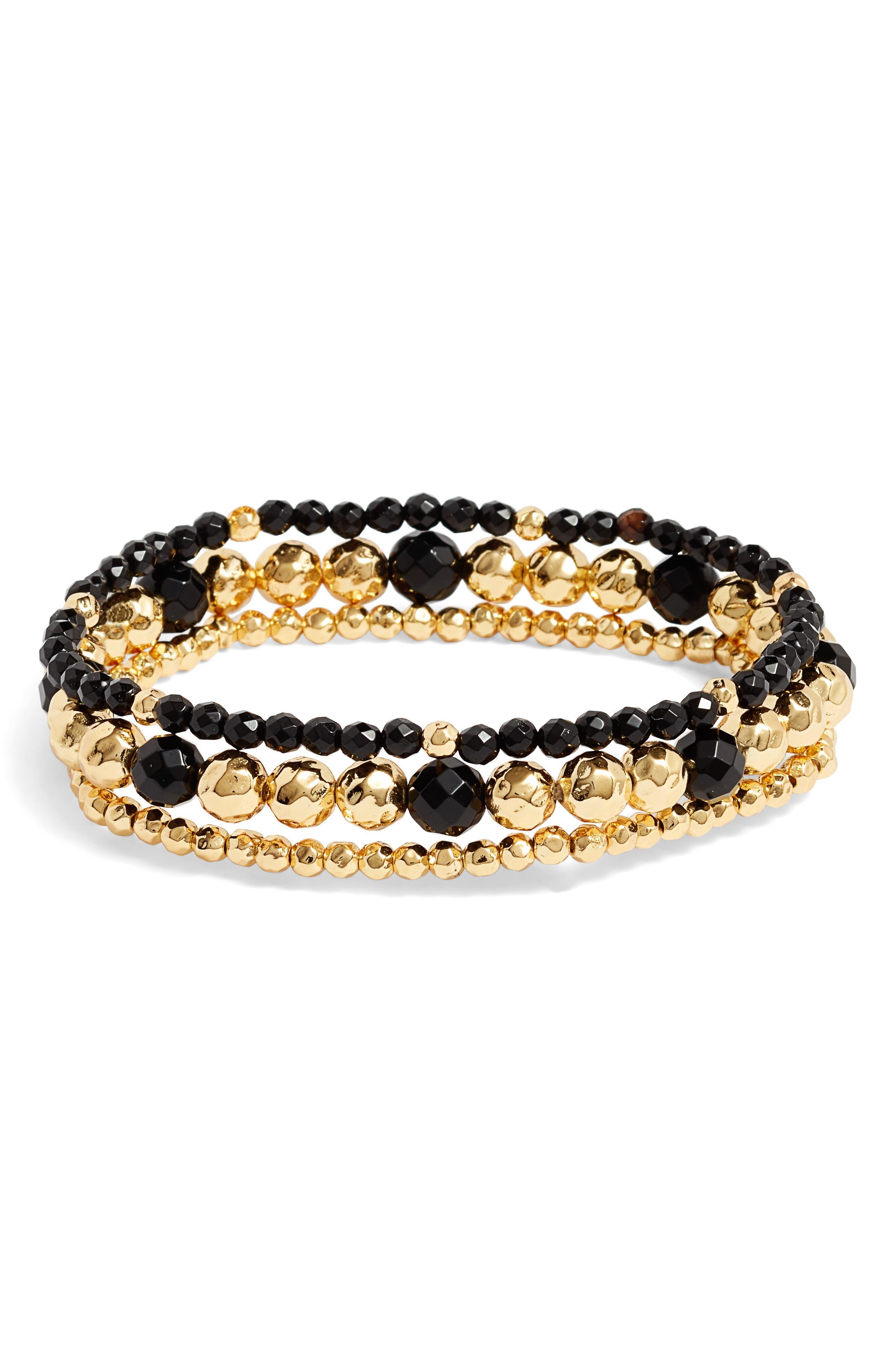 Gypset Set of 3 Bracelets,                         Main,                         color, 001