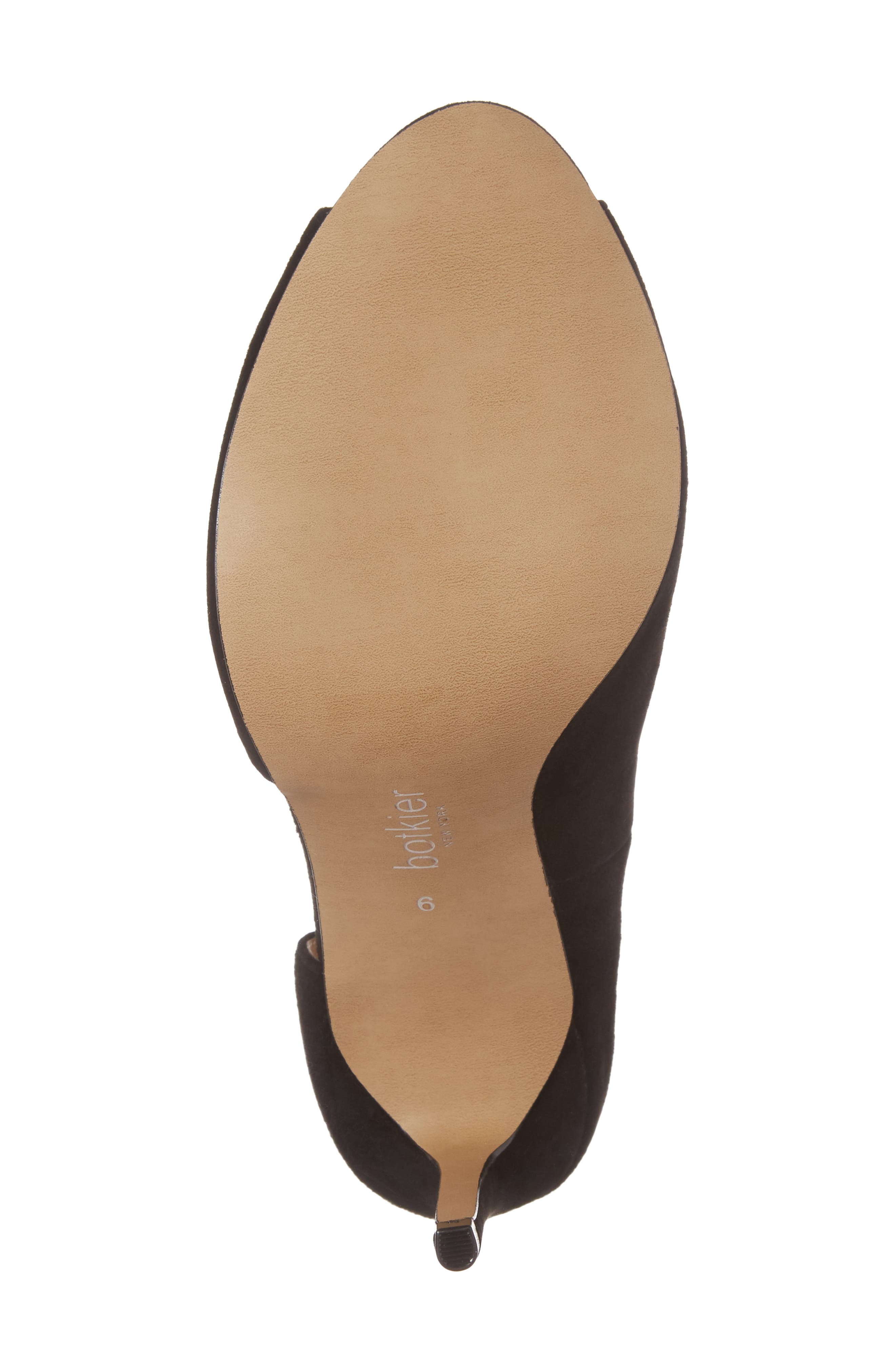 Adelia Asymmetrical Sandal,                             Alternate thumbnail 6, color,                             BLACK