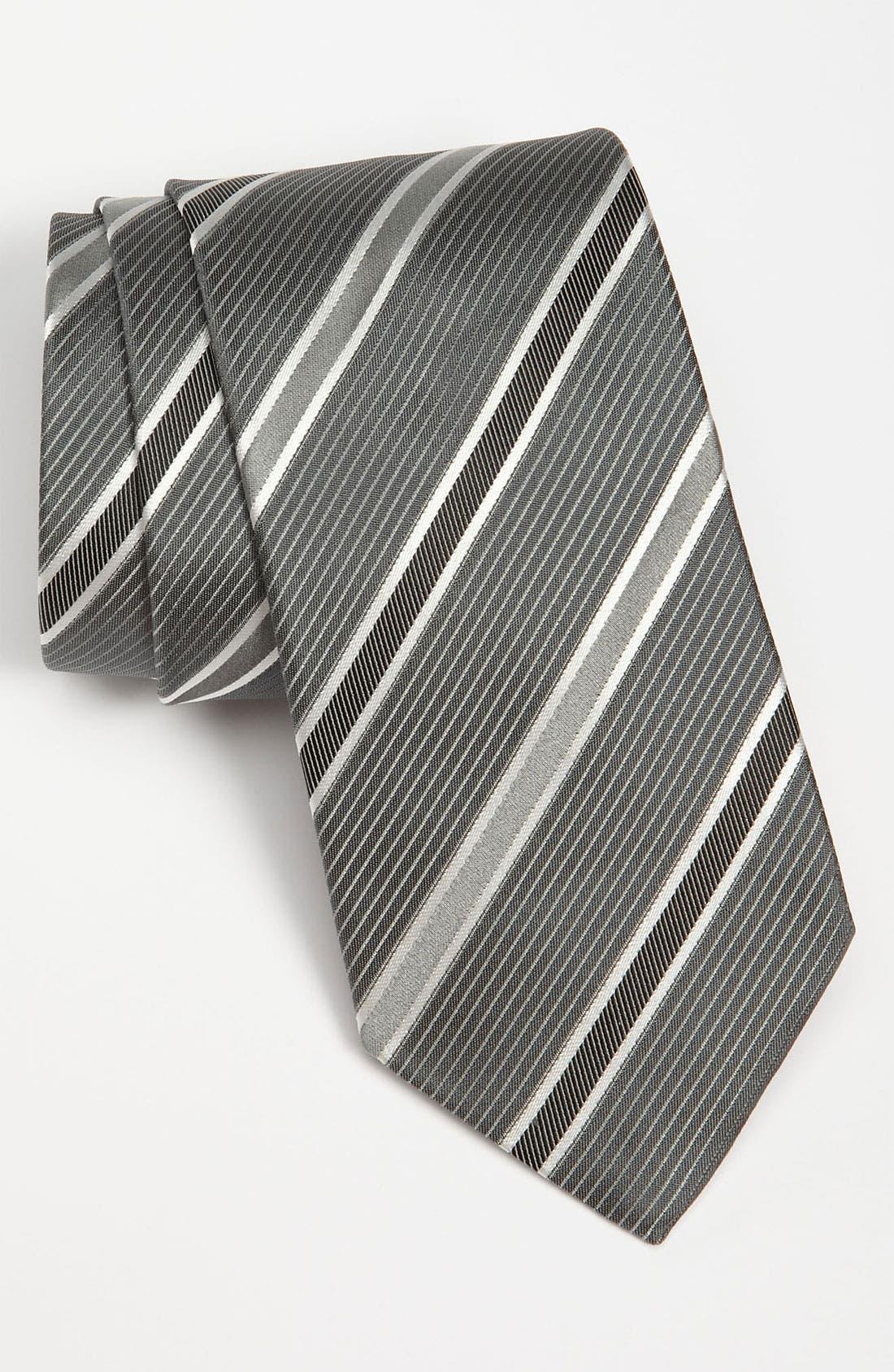 HUGO BOSS Woven Silk Tie,                         Main,                         color, 032