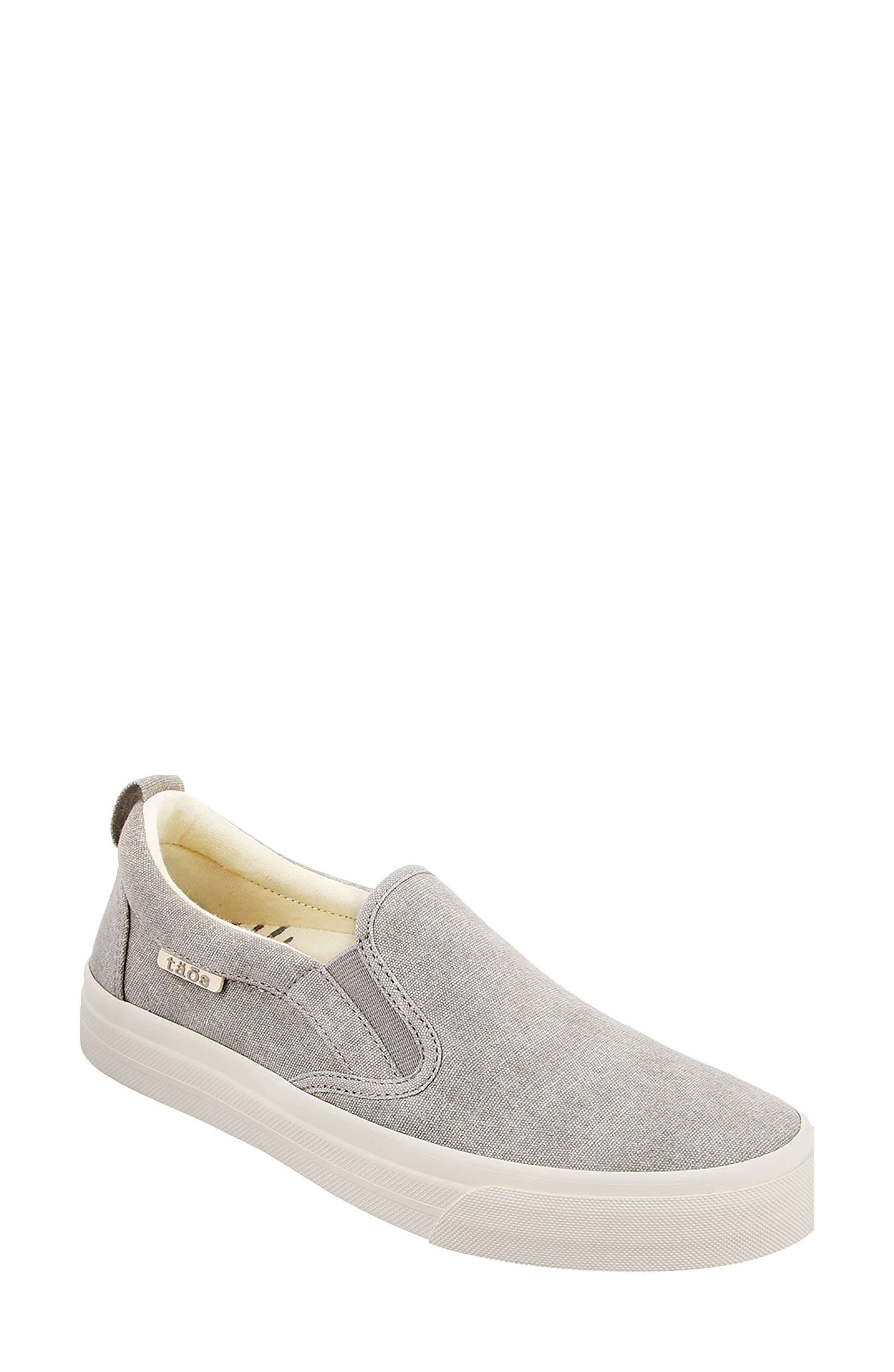 Soul Slip-On Sneaker,                             Main thumbnail 1, color,                             GREY WASH CANVAS