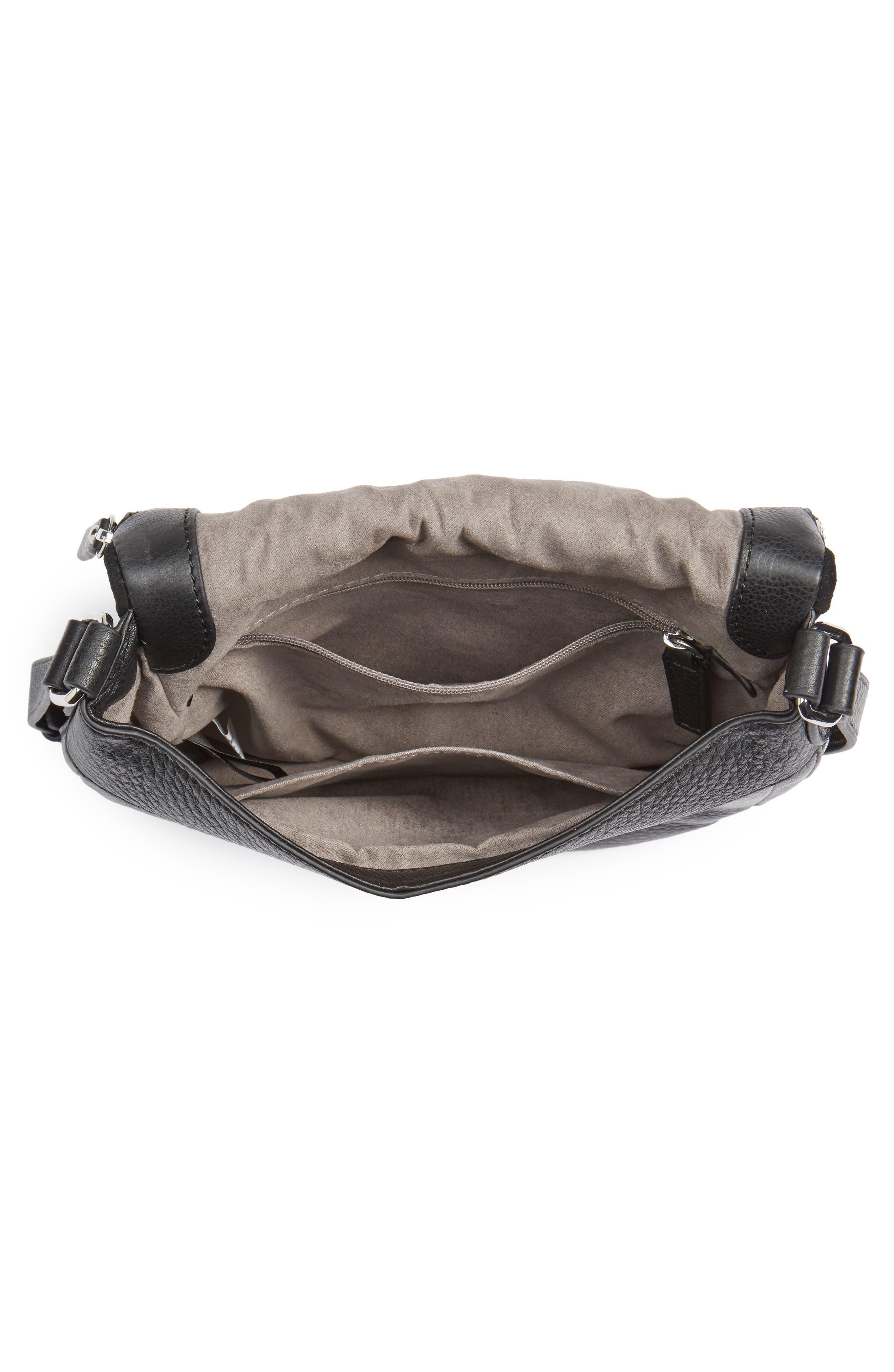 Bonny Studded Leather Crossbody Bag,                             Alternate thumbnail 7, color,