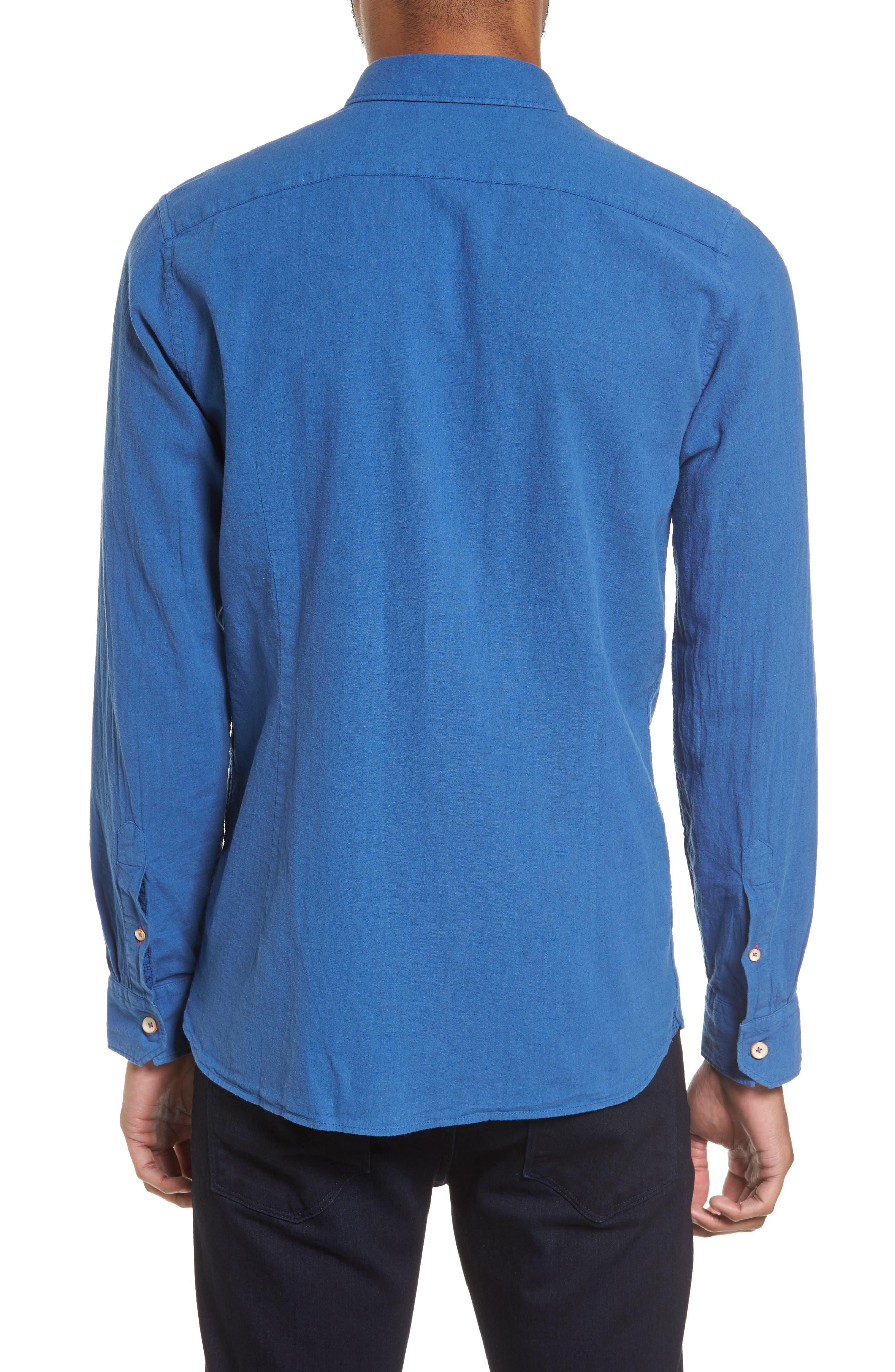 Carwash Modern Slim Fit Sport Shirt,                             Alternate thumbnail 5, color,