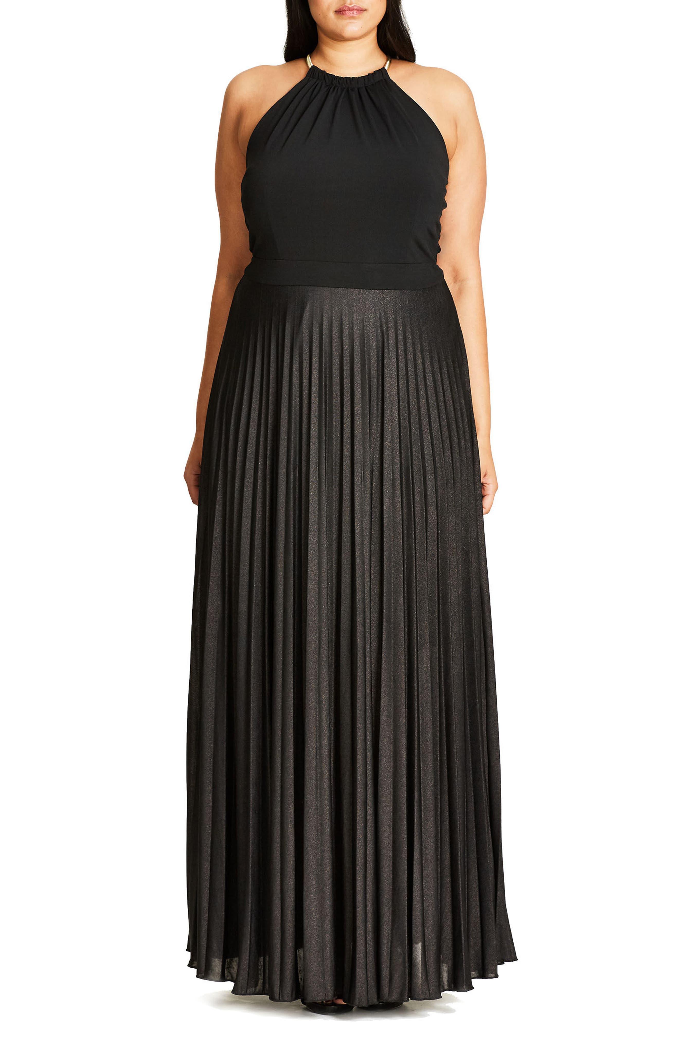 Colorblock Maxi Dress,                         Main,                         color,