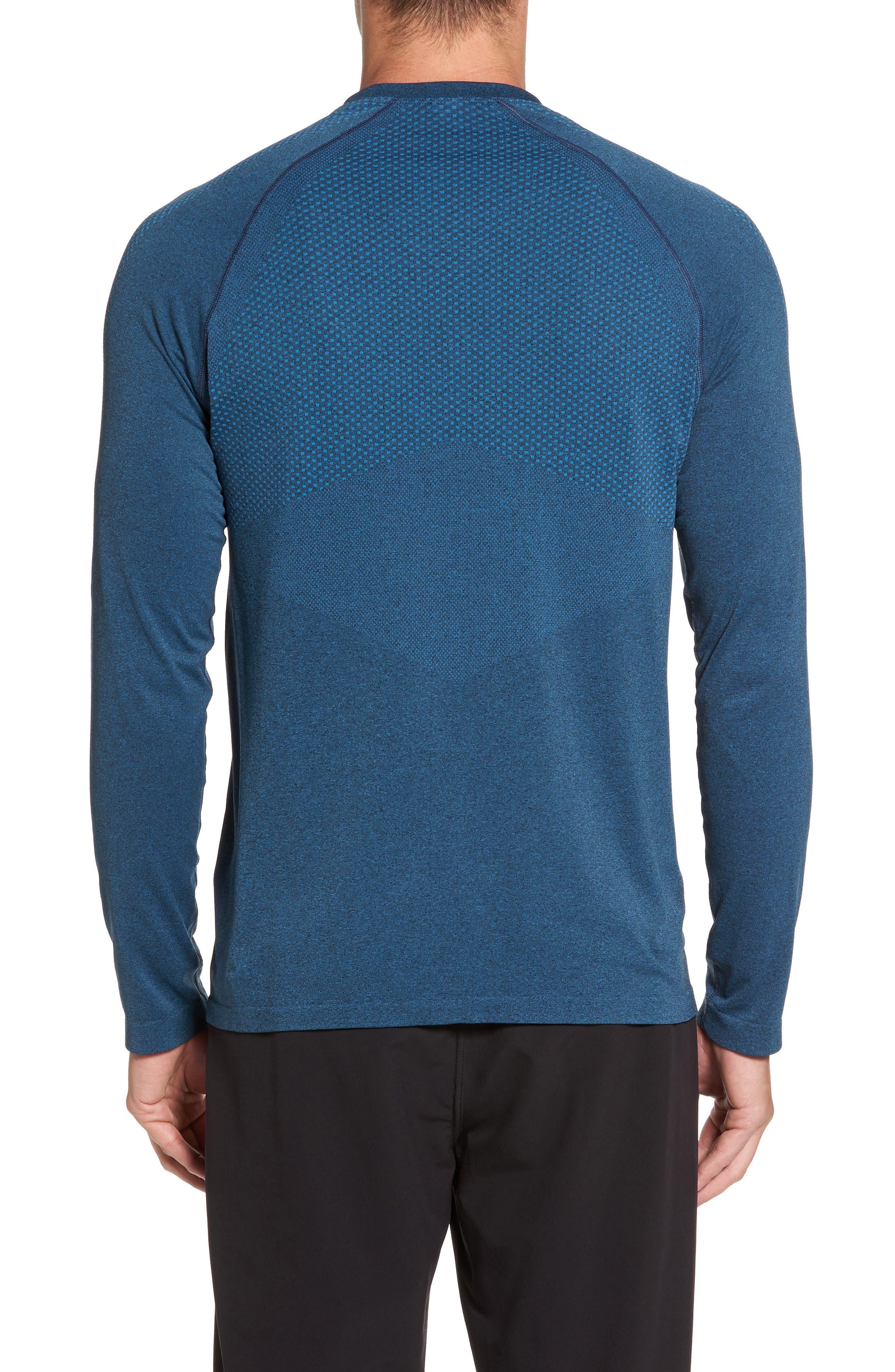 Zeolite Long Sleeve Performance T-Shirt,                             Alternate thumbnail 5, color,