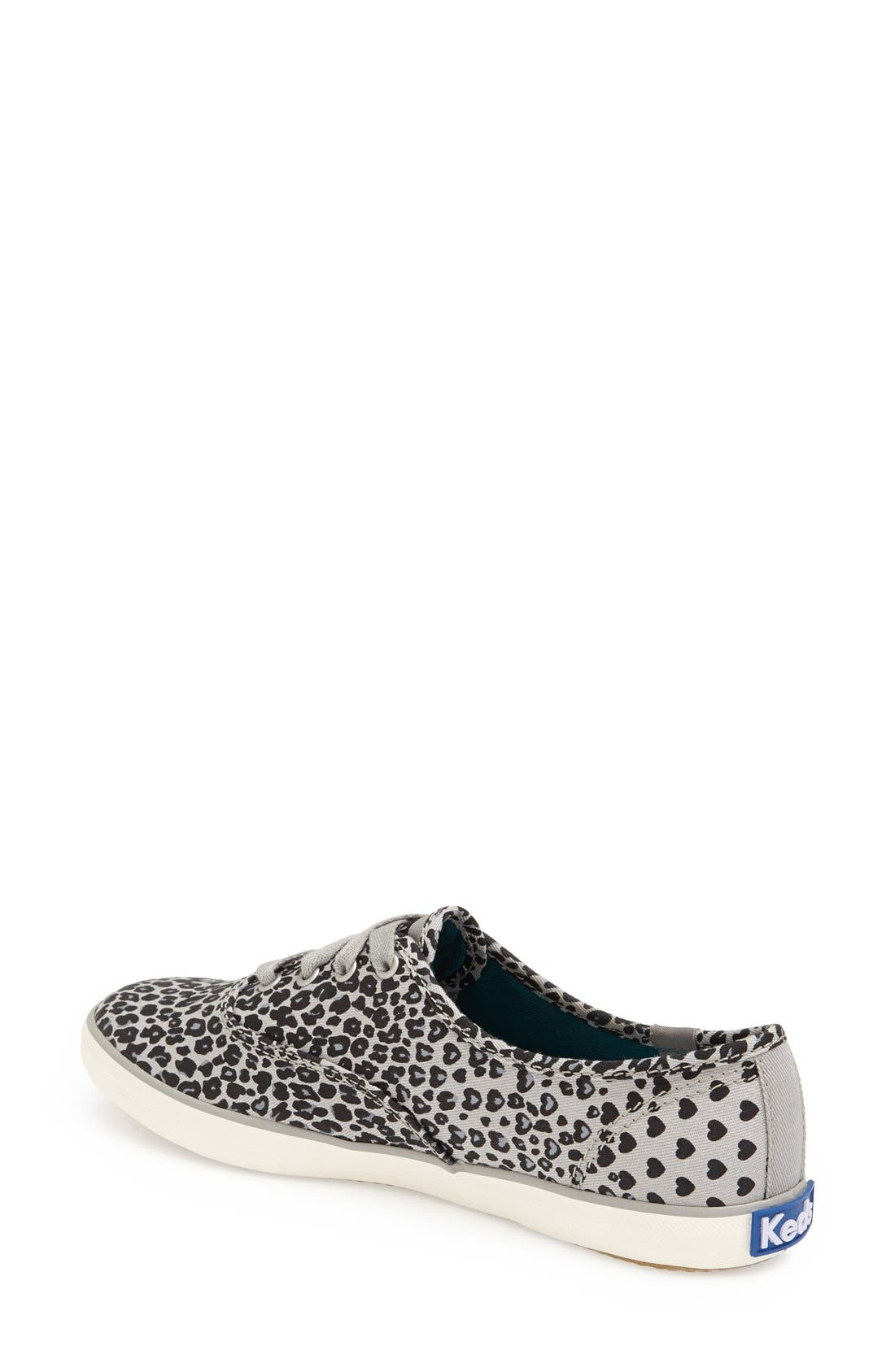 KEDS<SUP>®</SUP>,                             'Champion - Leopard' Sneaker,                             Alternate thumbnail 2, color,                             001