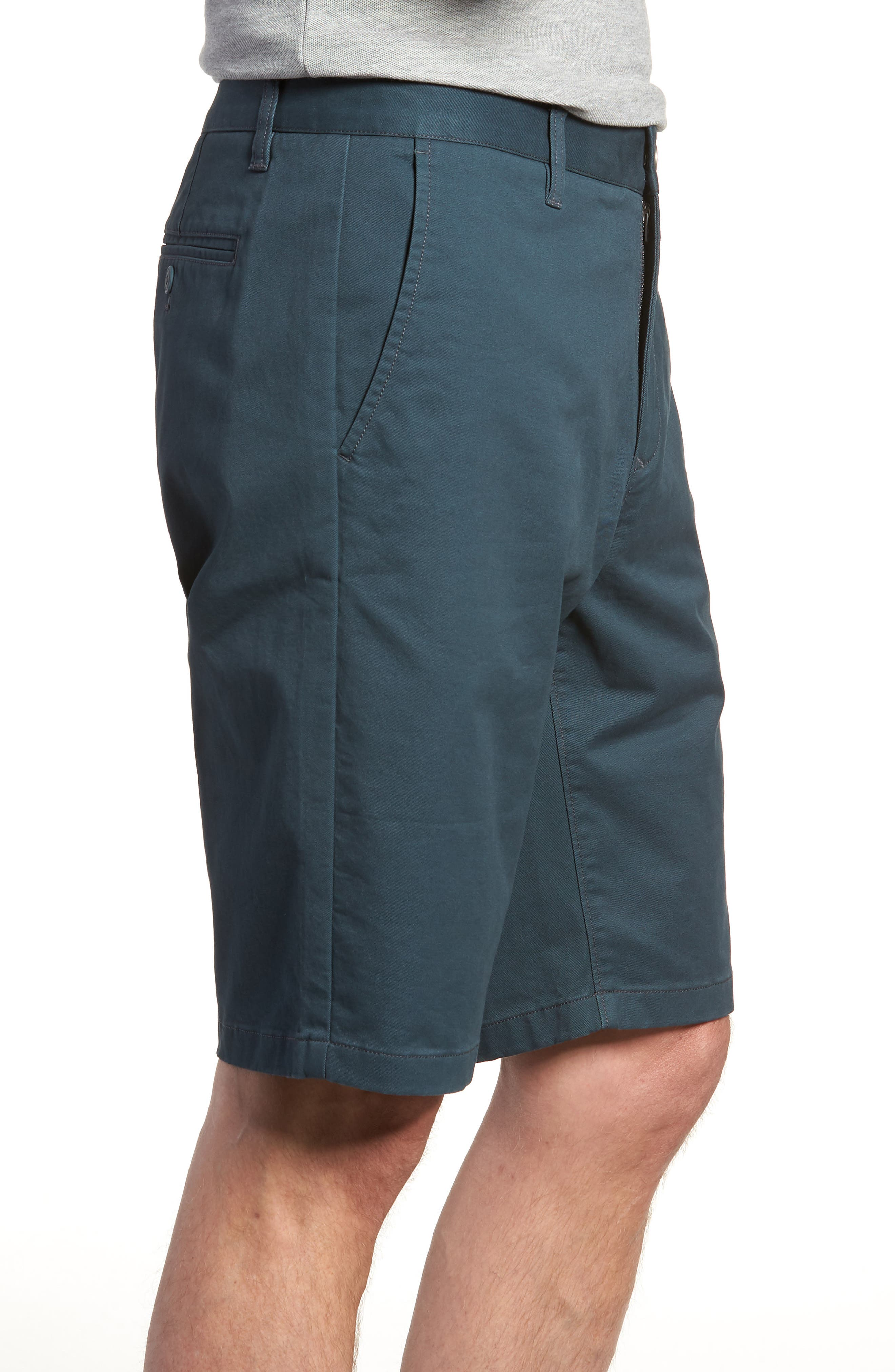 Stretch Washed Chino 11-Inch Shorts,                             Alternate thumbnail 47, color,