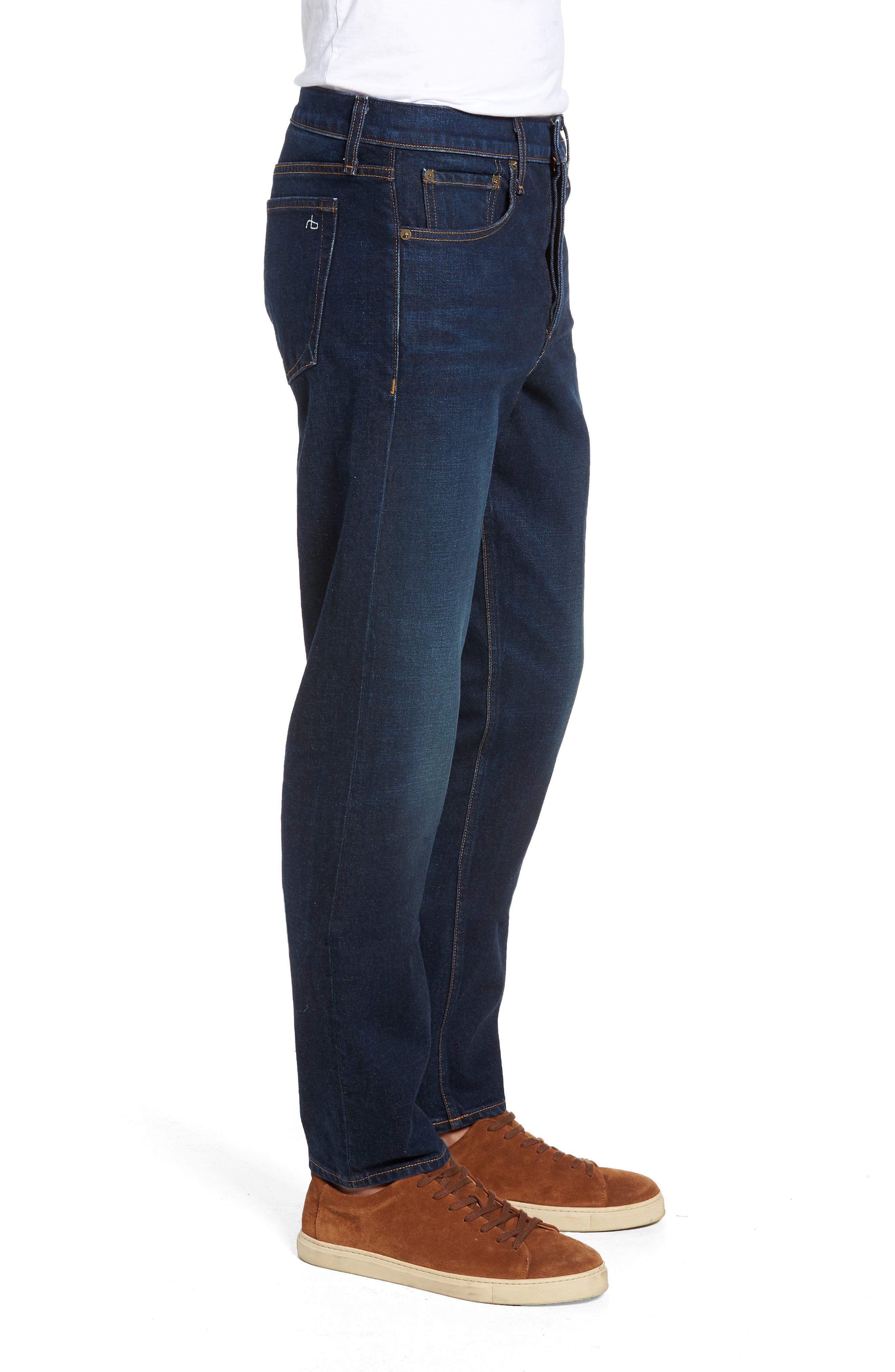 Fit 3 Straight Leg Jeans,                             Alternate thumbnail 3, color,                             ACE