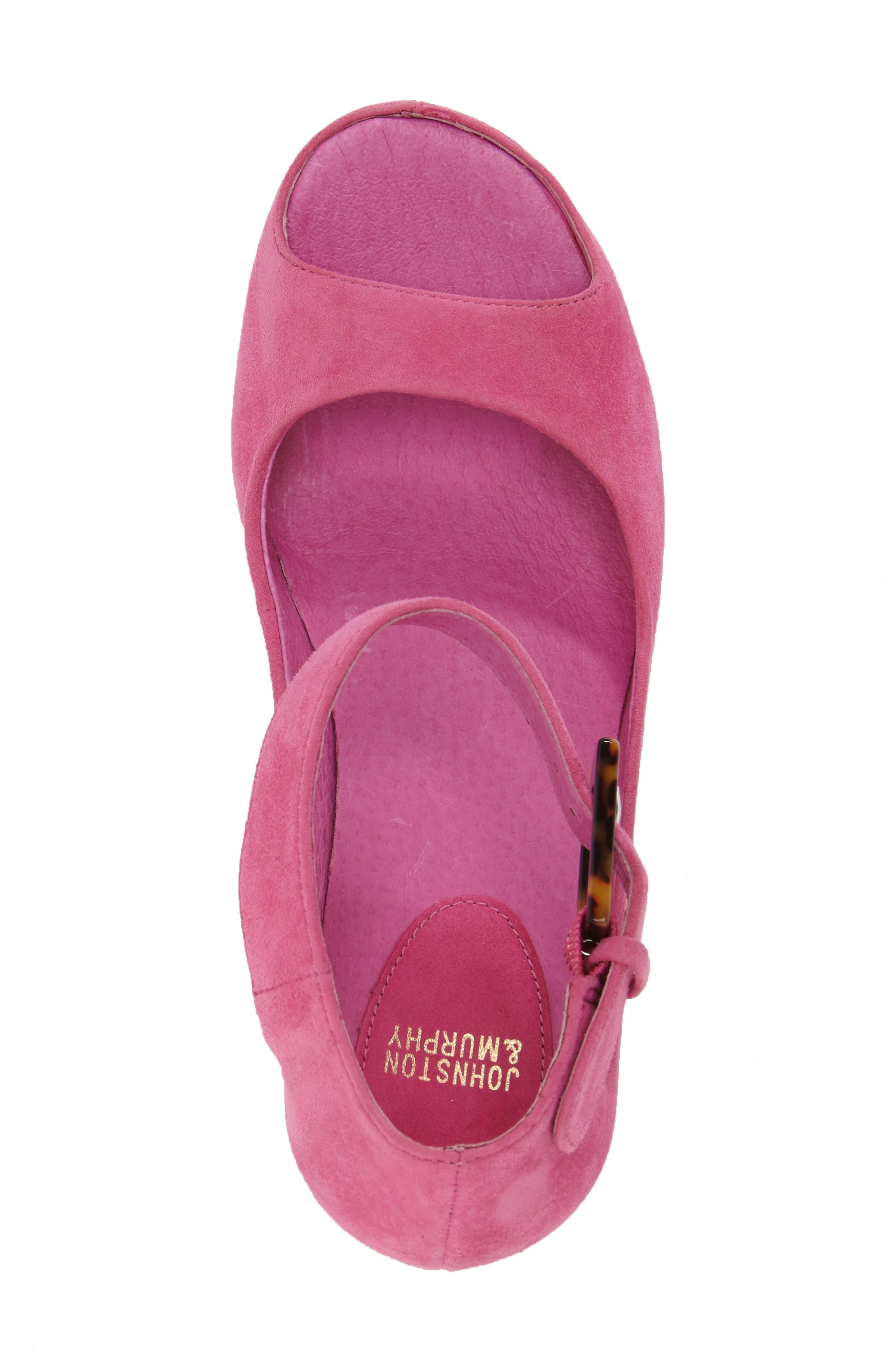 'Tricia' Ankle Strap Sandal,                             Alternate thumbnail 43, color,