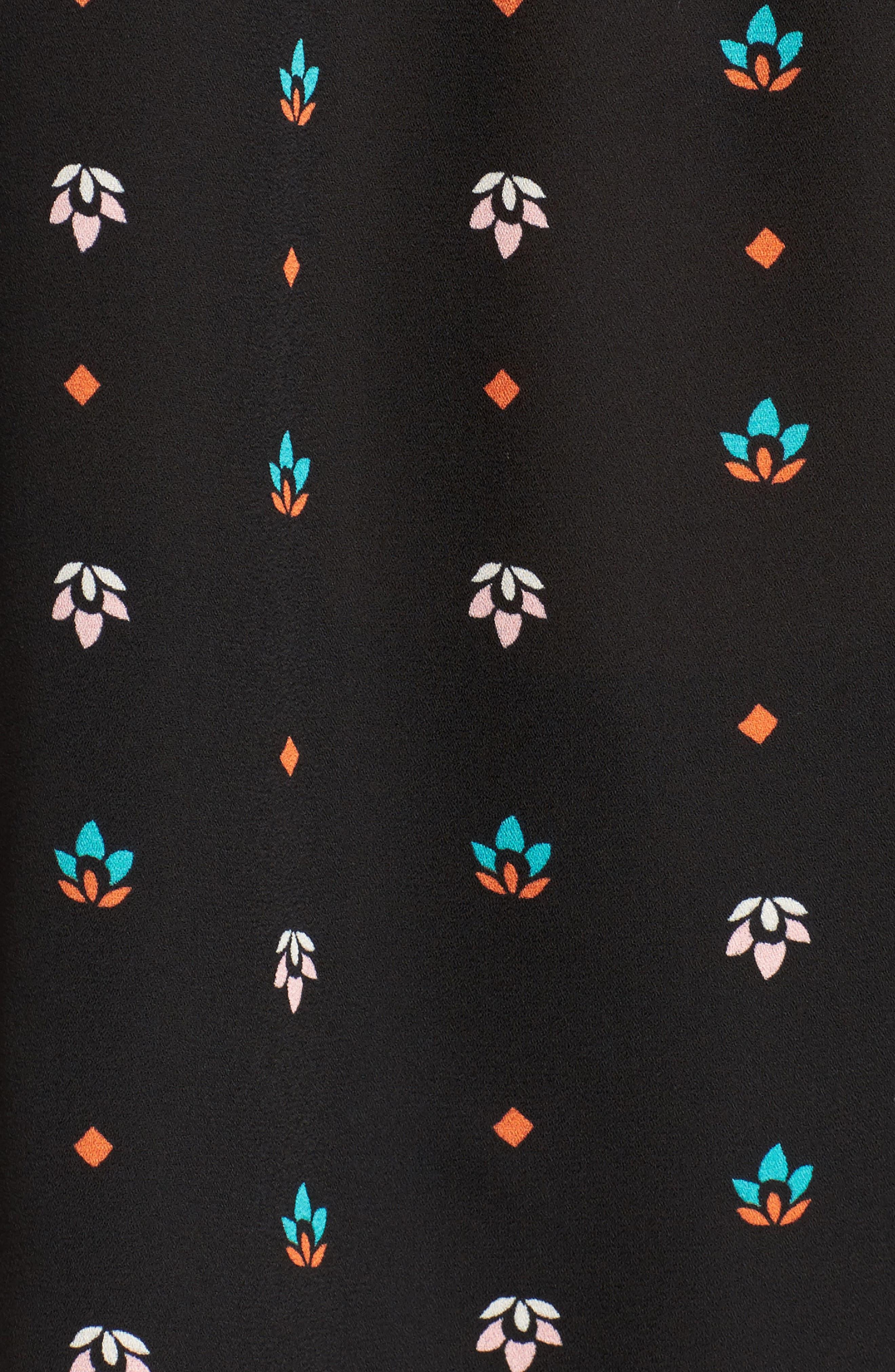 Ruffle Sleeve Blouse,                             Alternate thumbnail 5, color,                             008