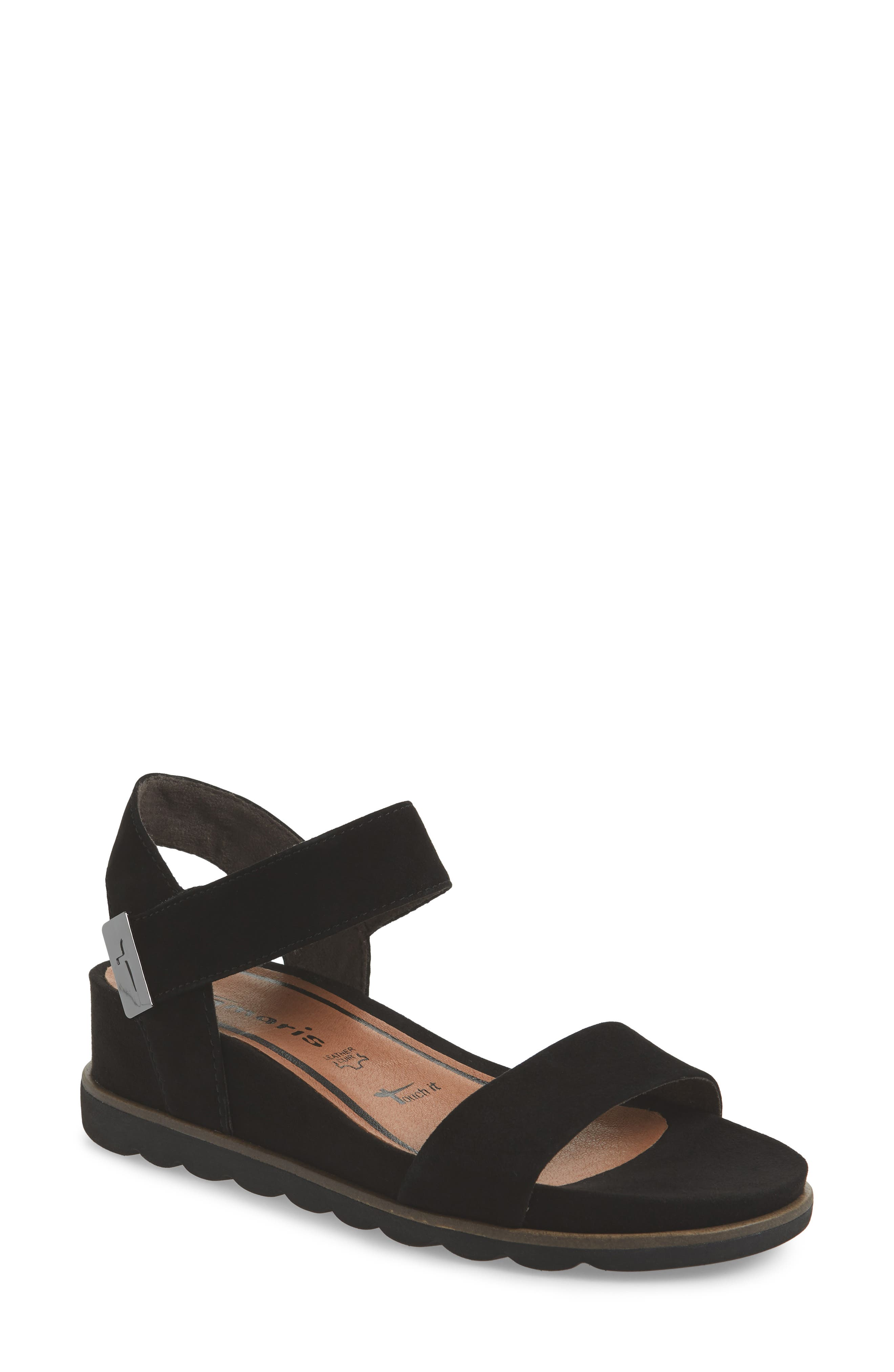 Cory Wedge Sandal,                             Main thumbnail 1, color,