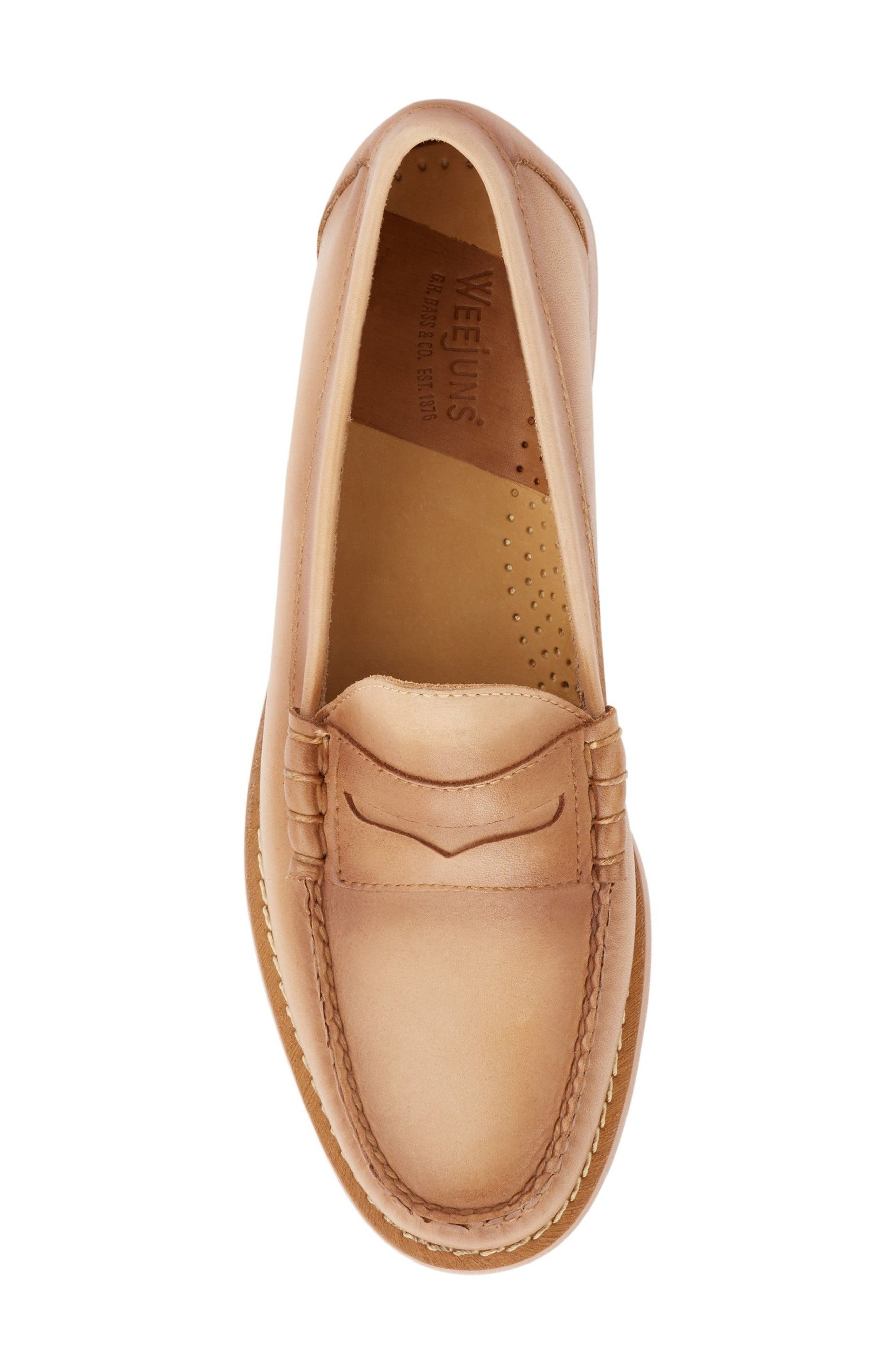 'Larson - Weejuns' Penny Loafer,                             Alternate thumbnail 5, color,                             VACHETTA LEATHER