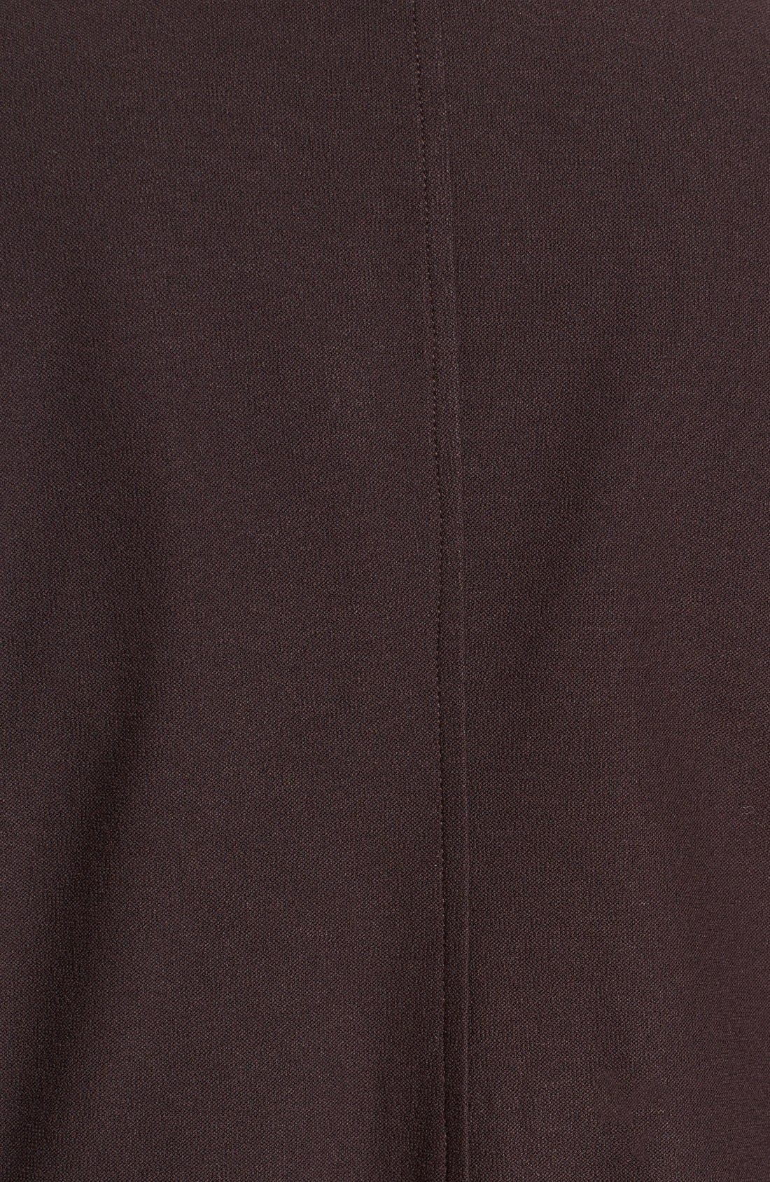 Washable Stretch Crepe Stand Collar Jacket,                             Alternate thumbnail 13, color,