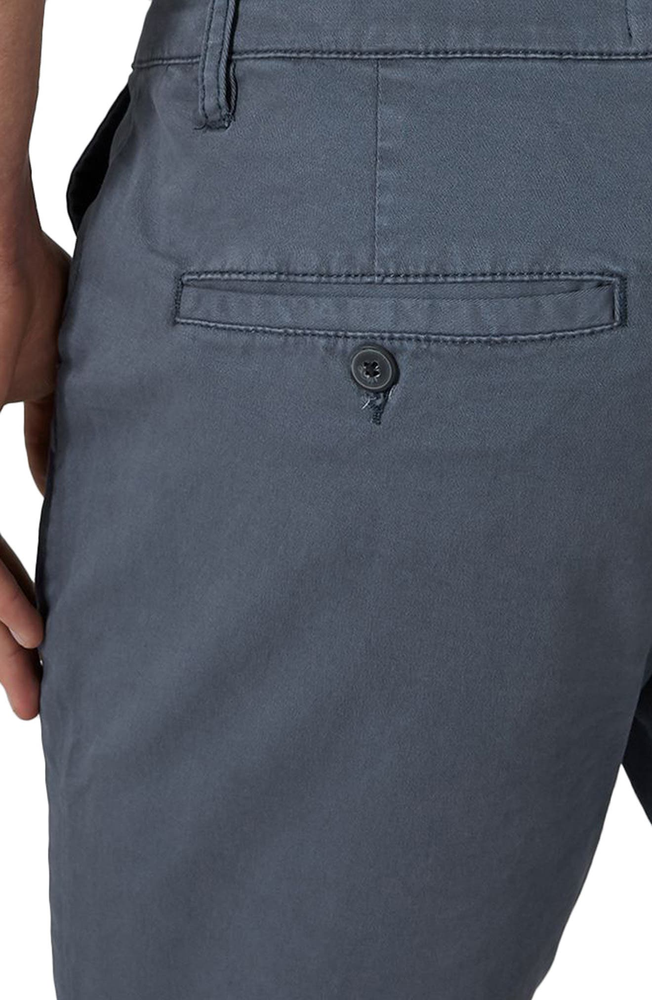 Stretch Skinny Chino Shorts,                             Alternate thumbnail 3, color,                             401