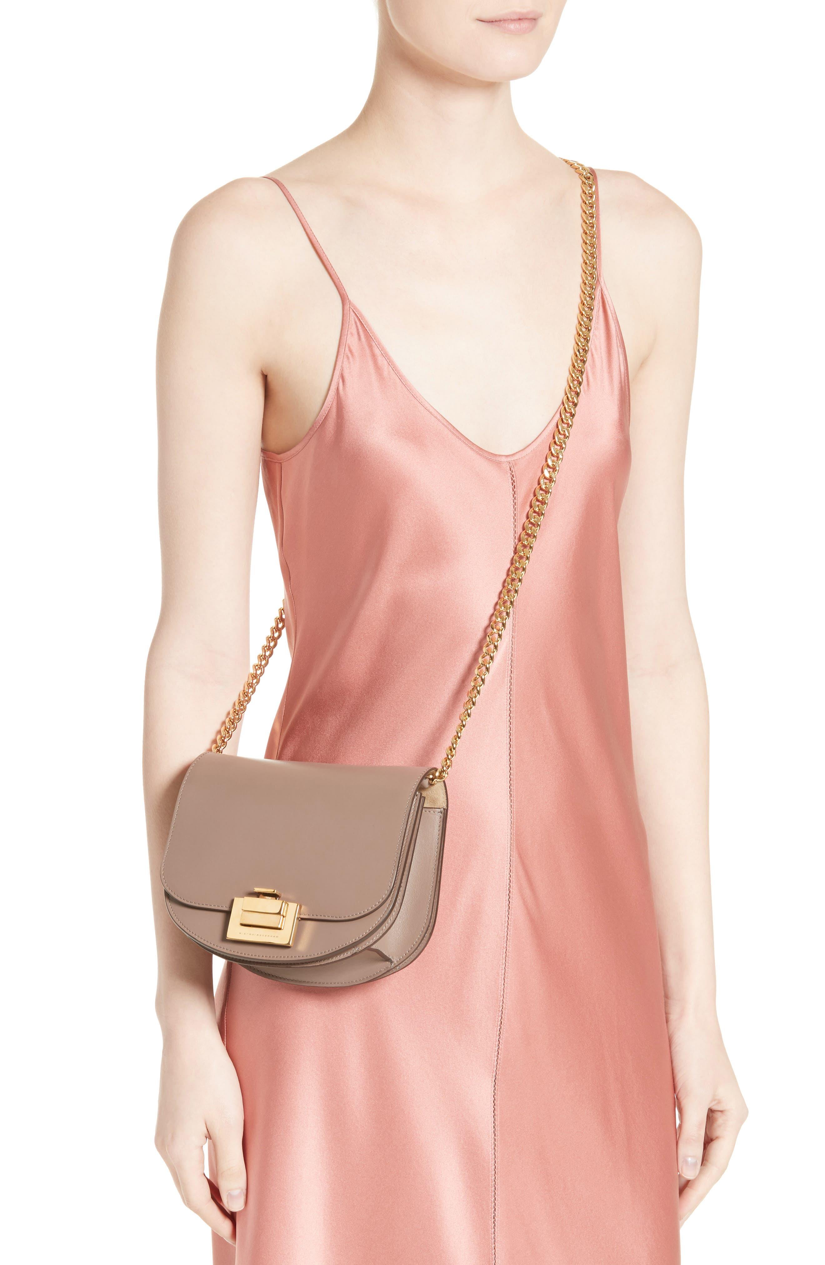 Medium Box Leather Shoulder Bag,                             Alternate thumbnail 2, color,                             200