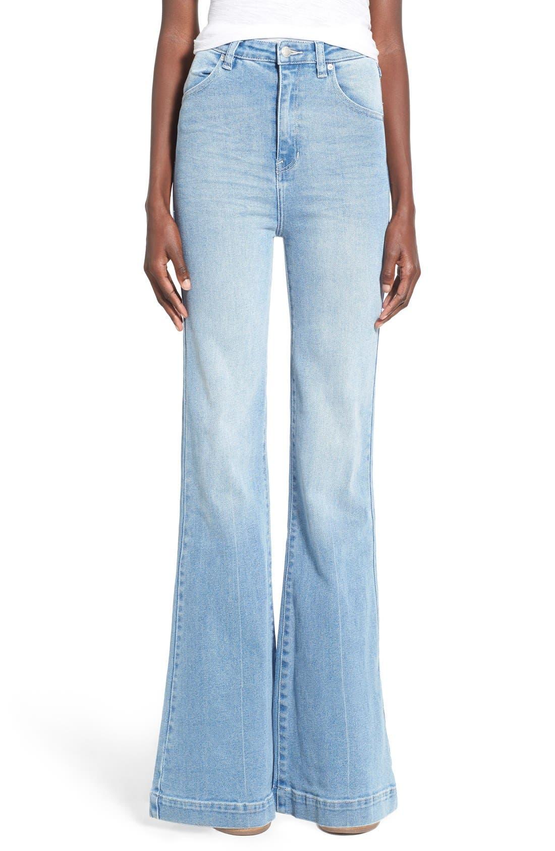 ROLLA'S 'East Coast' Flare Jeans, Main, color, 430
