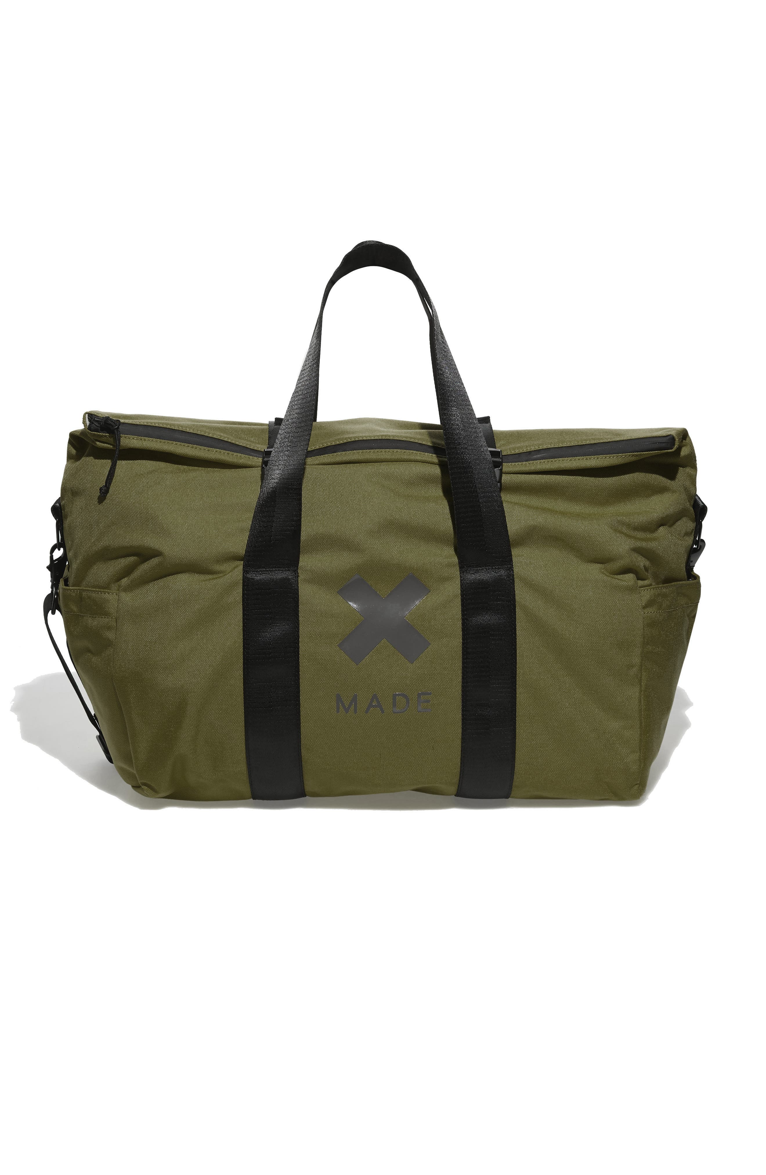SWS 50L Roll Top Duffel Bag,                             Main thumbnail 1, color,                             OLIVE