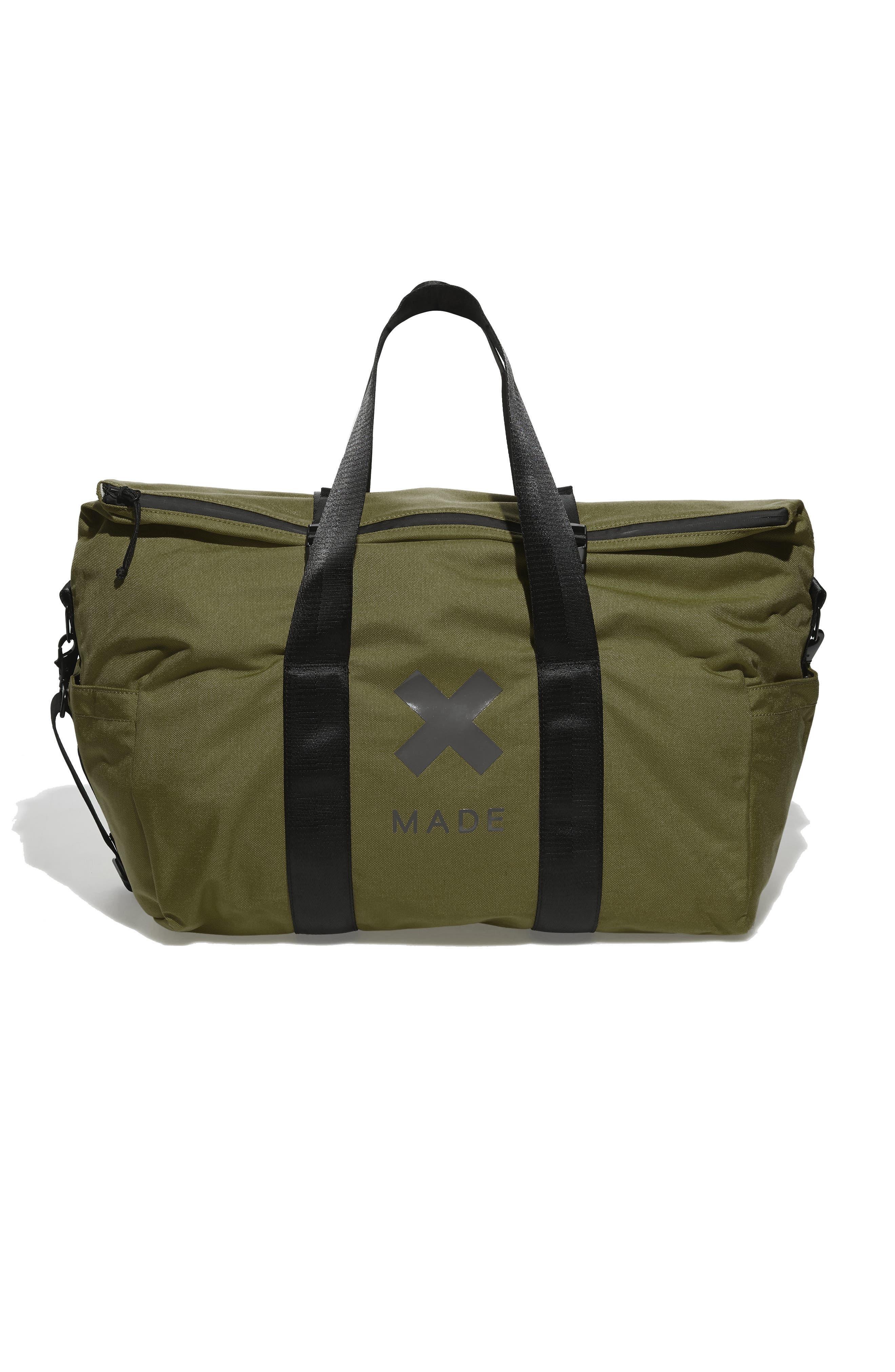 SWS 50L Roll Top Duffel Bag,                         Main,                         color, OLIVE
