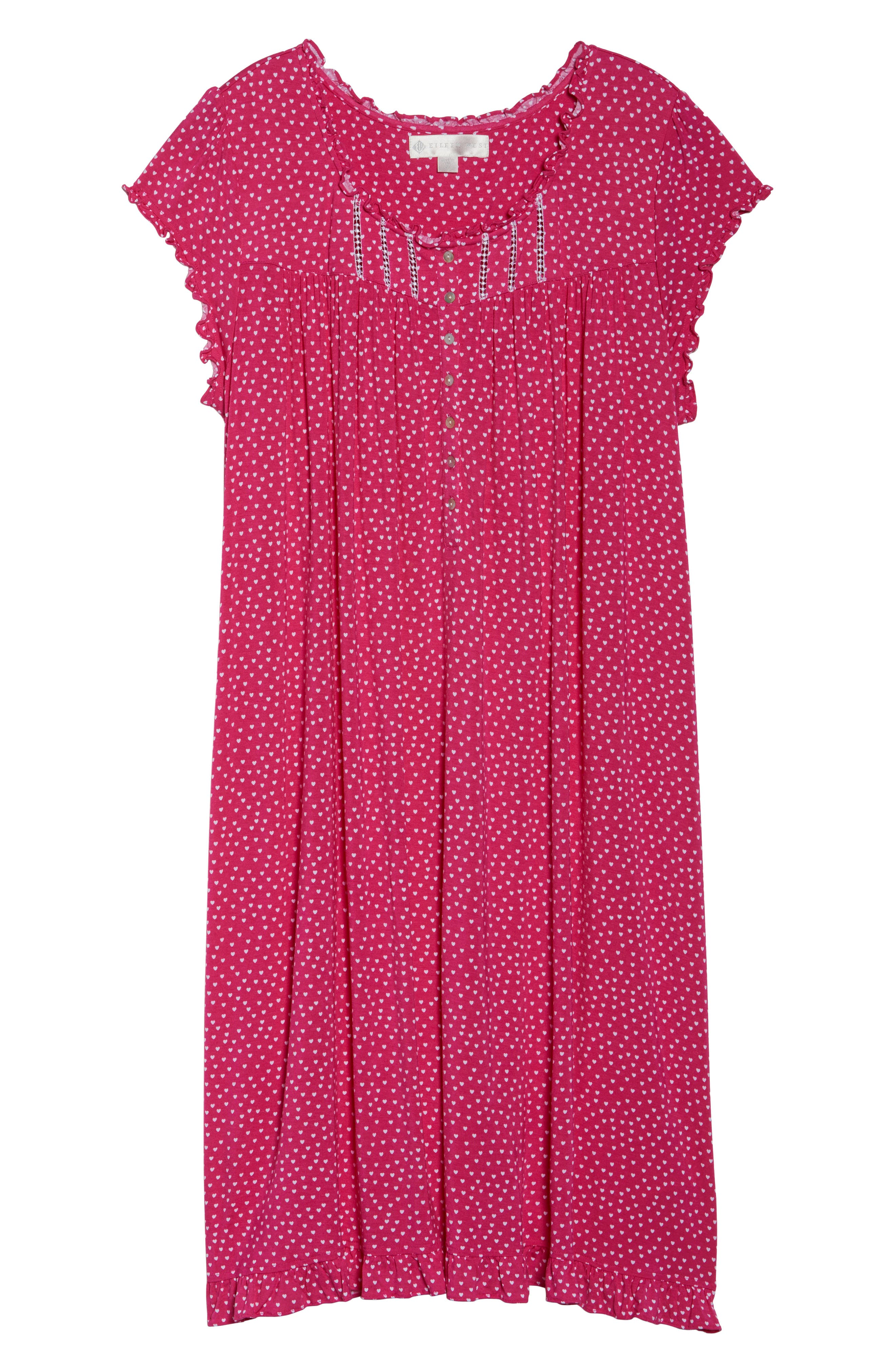 Modal Jersey Nightgown,                             Alternate thumbnail 12, color,