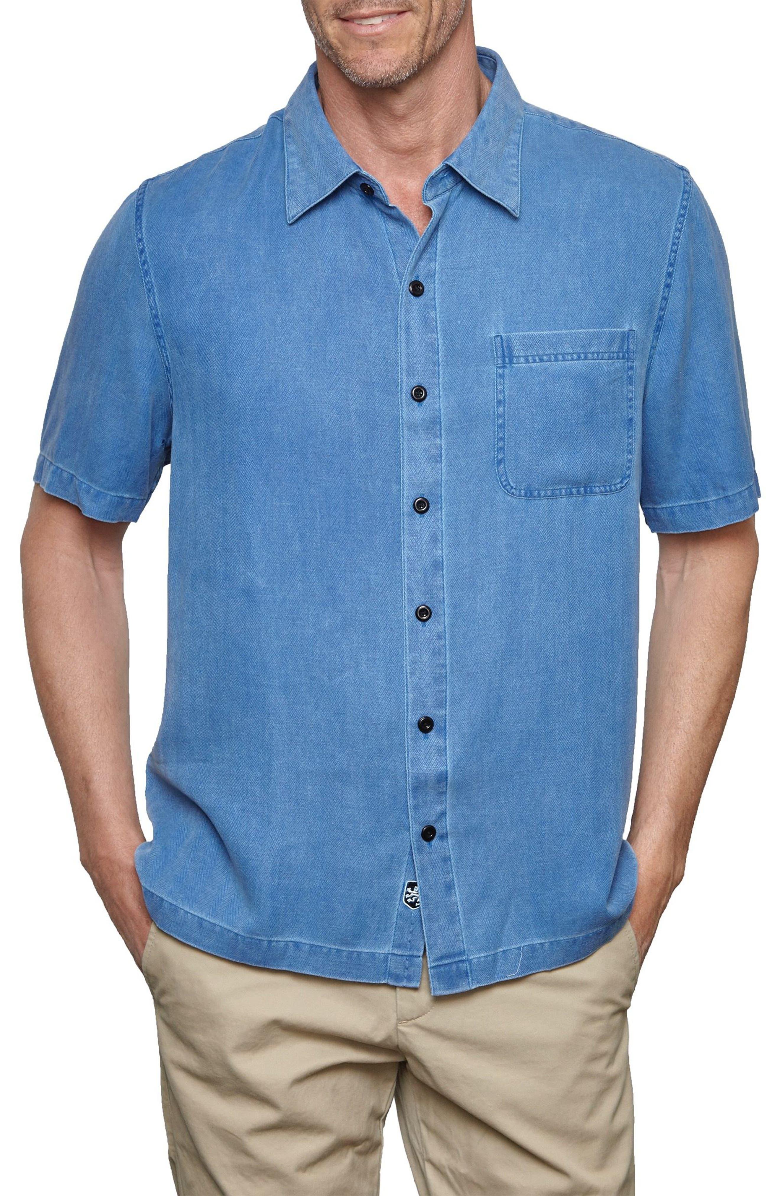 With a Twist Silk Blend Camp Shirt,                             Main thumbnail 4, color,