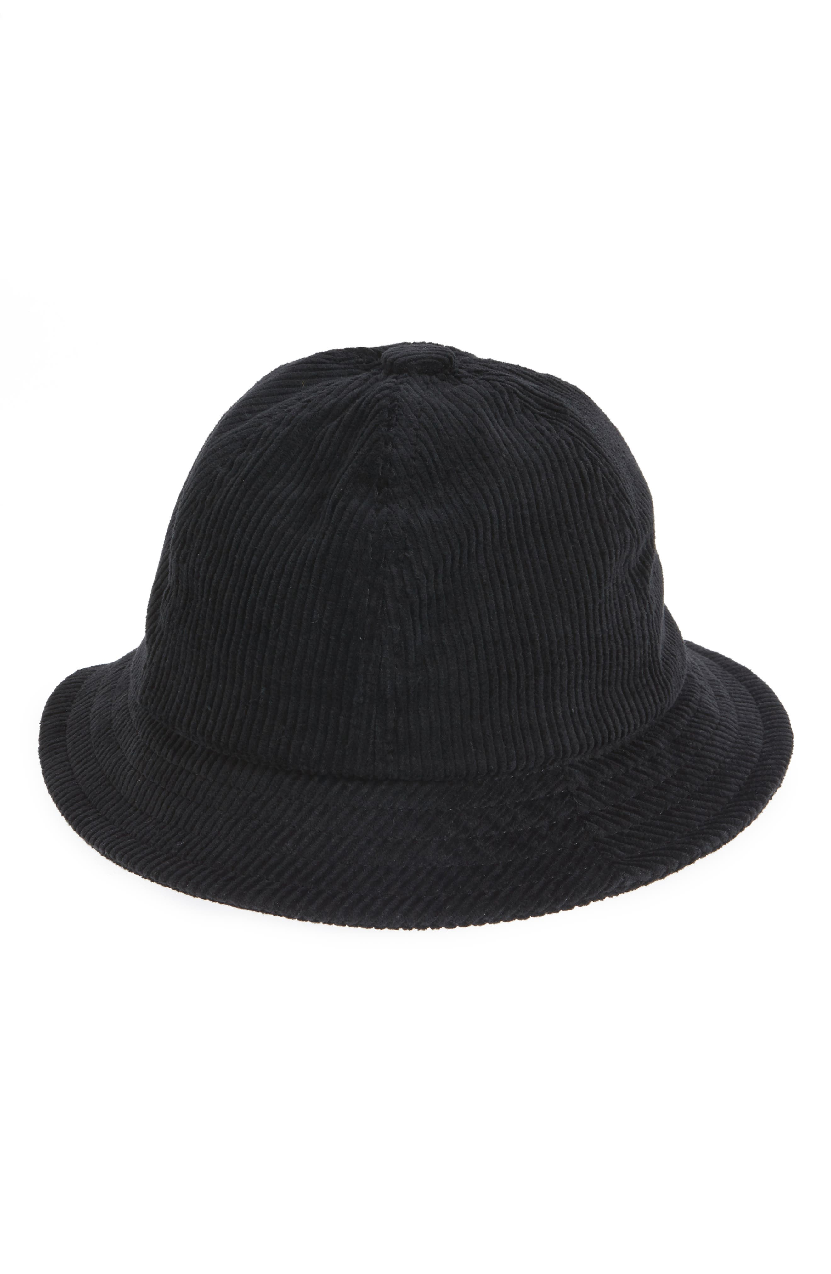 Essex Bucket Hat,                             Main thumbnail 1, color,                             BLACK/ BLACK