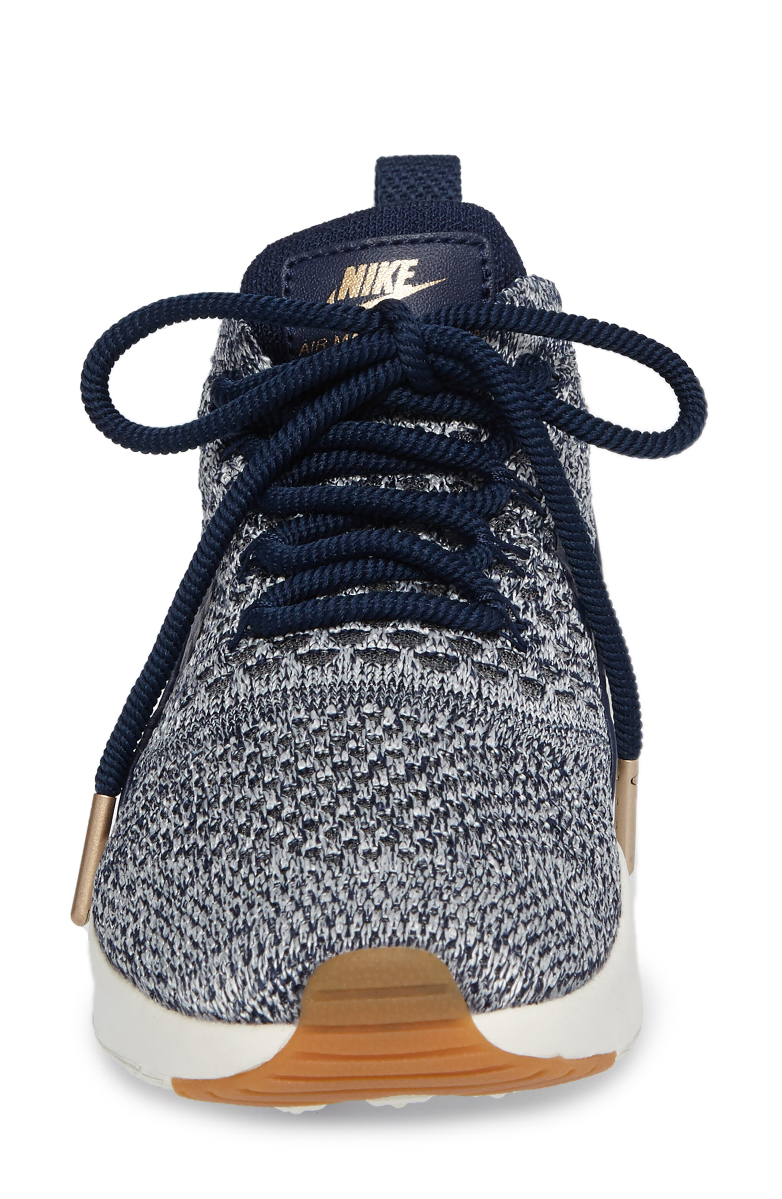 Air Max Thea Ultra Flyknit Sneaker,                             Alternate thumbnail 45, color,