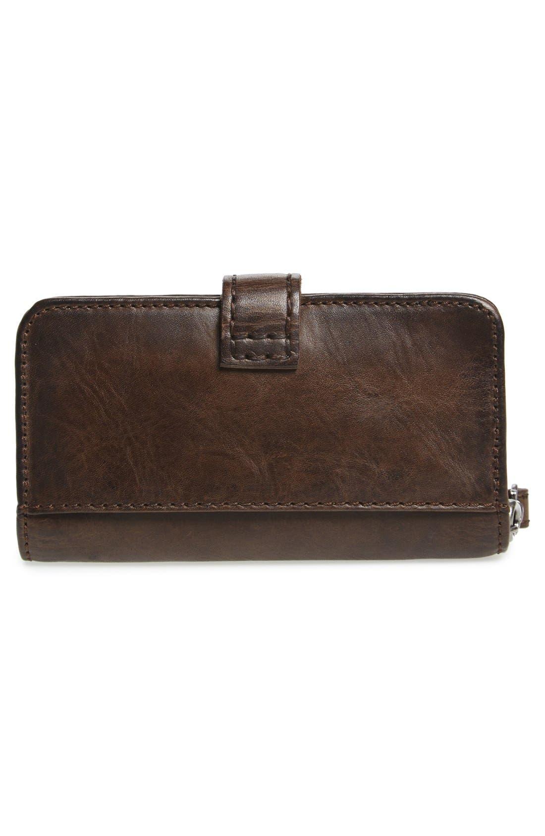 'Melissa' Leather Phone Wallet,                             Alternate thumbnail 2, color,                             020