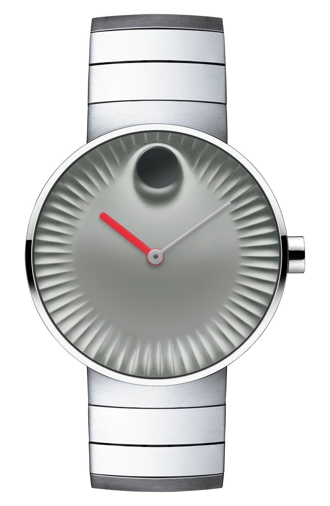 'Edge' Bracelet Watch, 40mm,                             Main thumbnail 5, color,