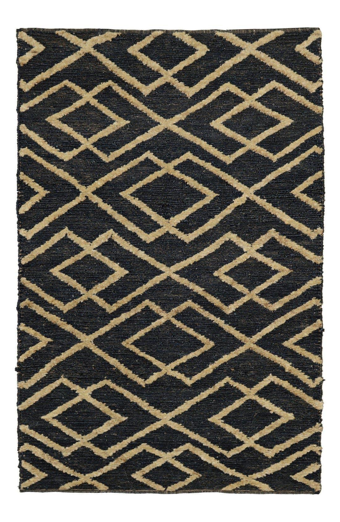 Soumak Aura Handwoven Rug,                             Main thumbnail 1, color,