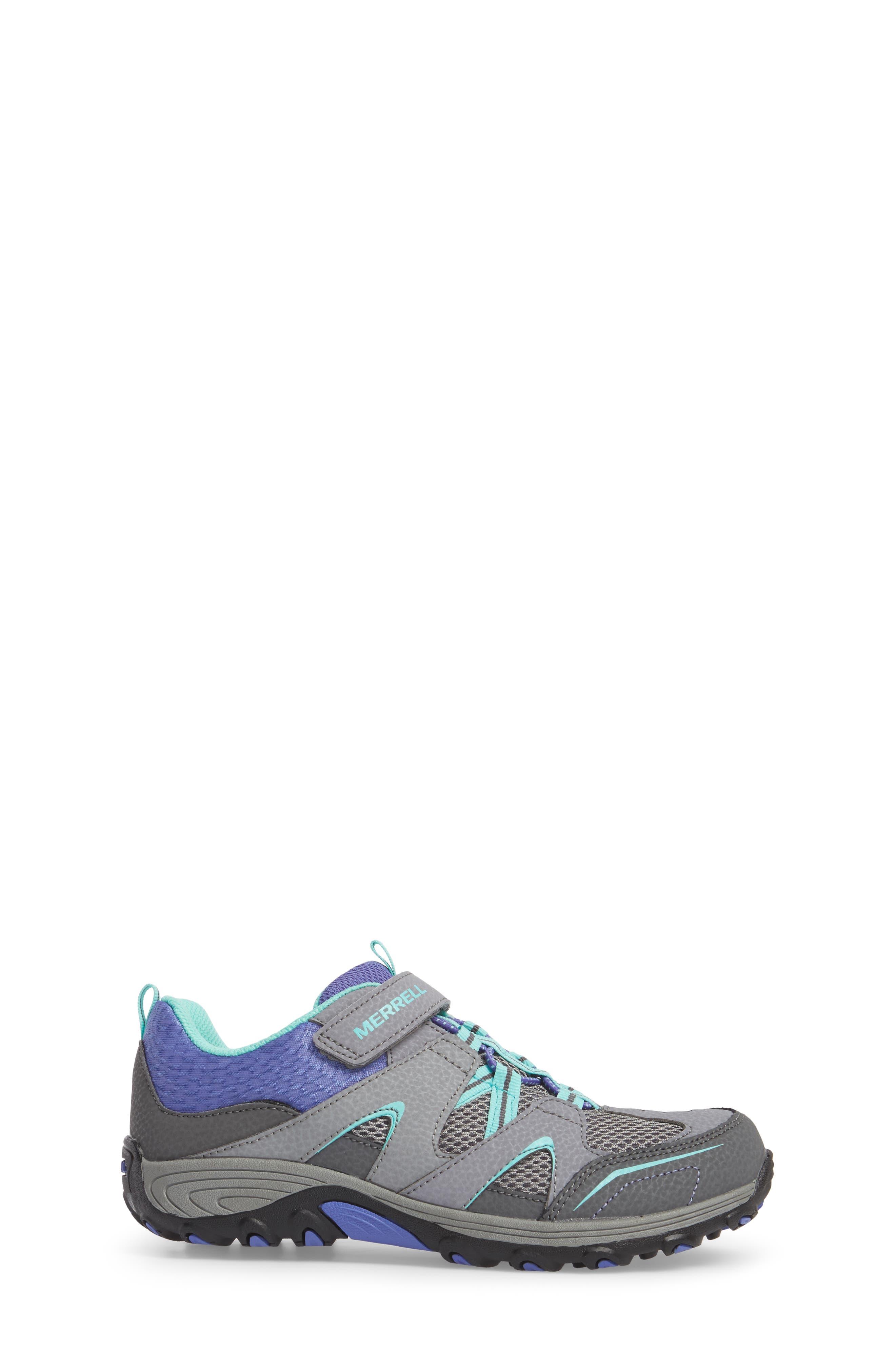 Trail Chaser Sneaker,                             Alternate thumbnail 3, color,                             GREY/ MULTI