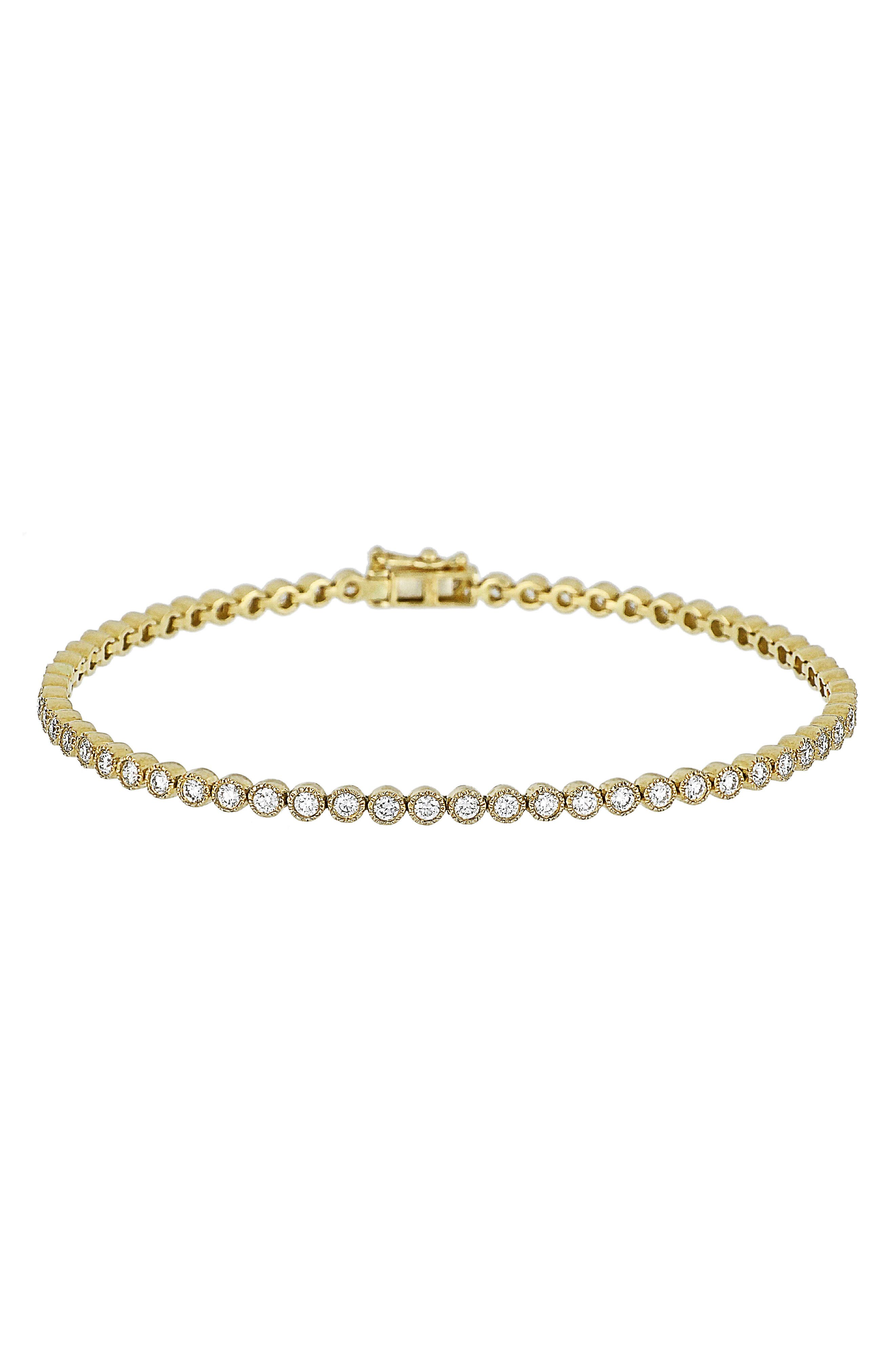 Harlowe Diamond Tennis Bracelet,                         Main,                         color, 710