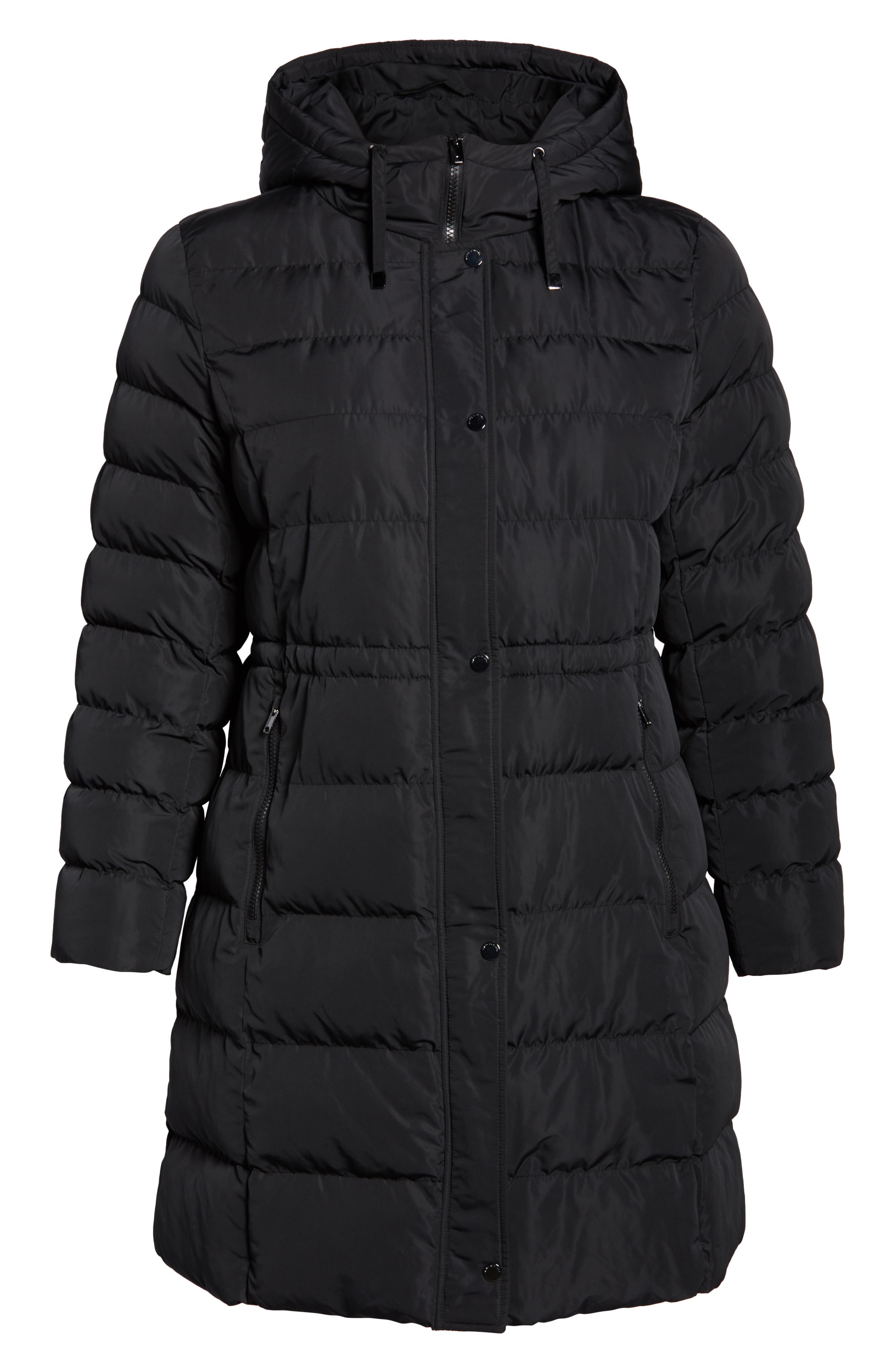 MARC NEW YORK,                             Jersey Hooded Parka,                             Alternate thumbnail 6, color,                             001