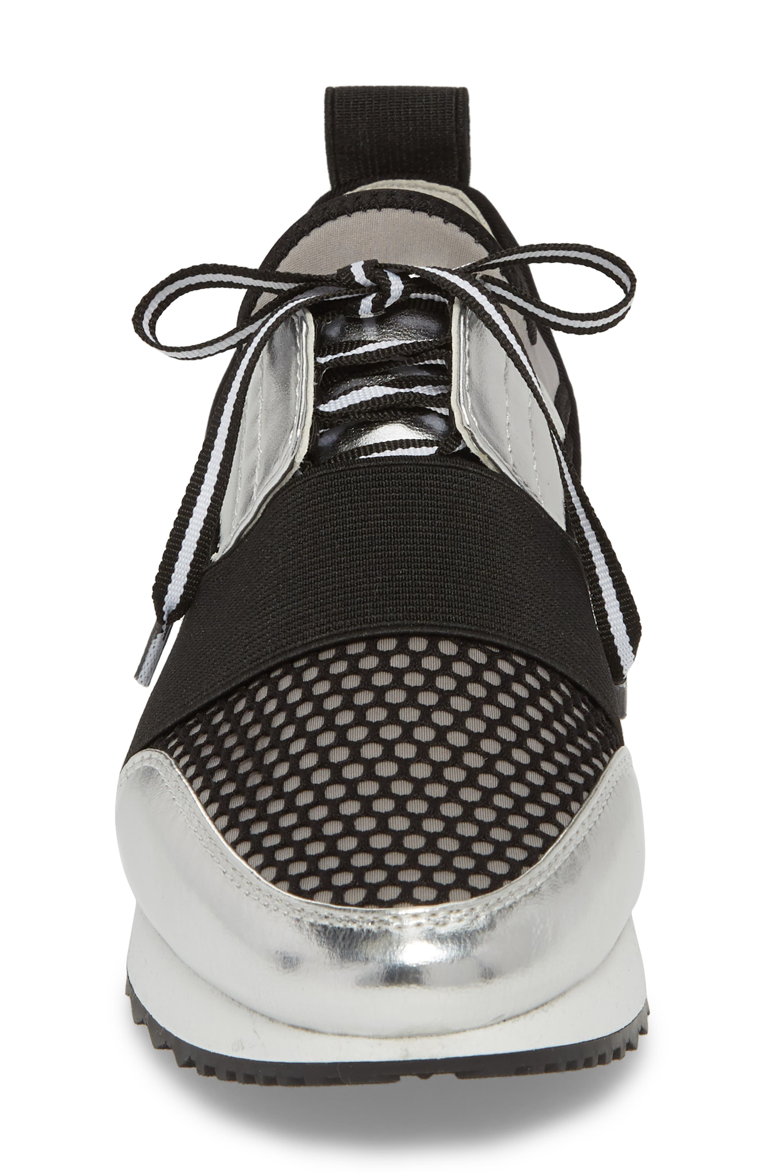 Arctic Sneaker,                             Alternate thumbnail 4, color,                             SILVER MULTI