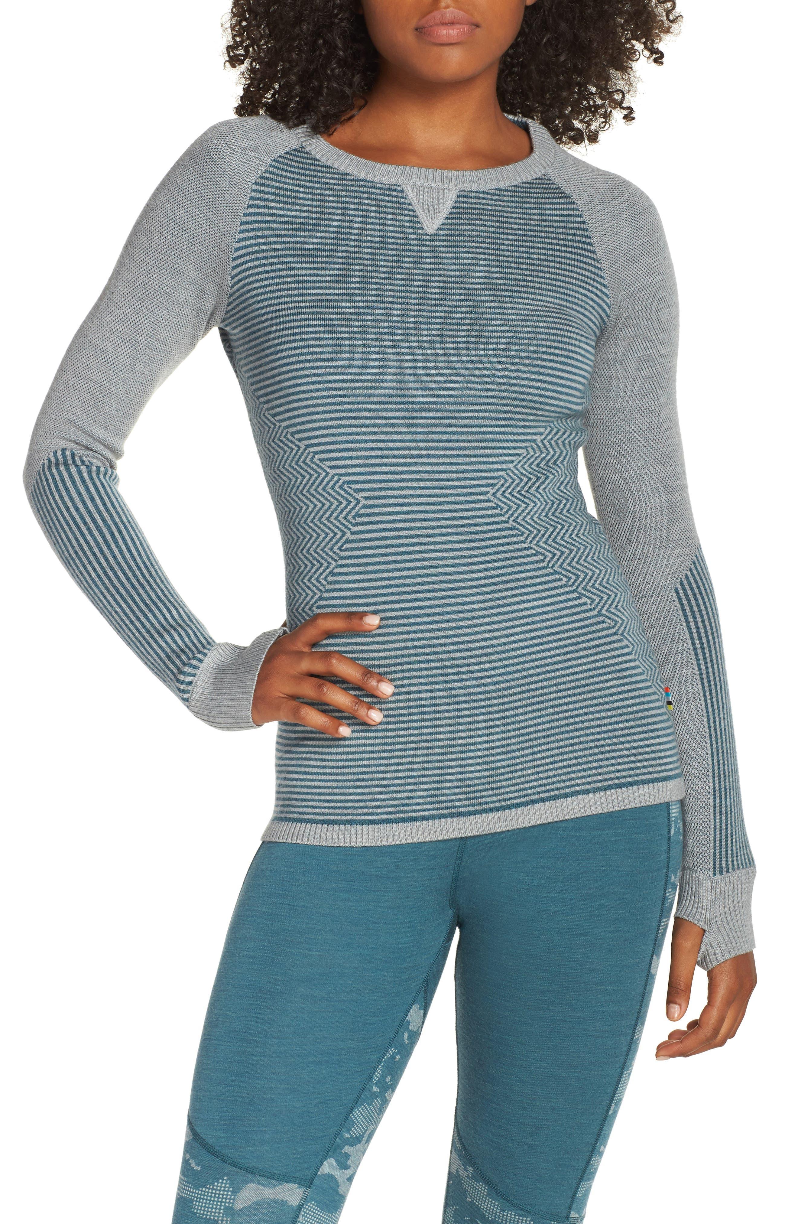 SMARTWOOL Dacono Ski Sweater, Main, color, 310