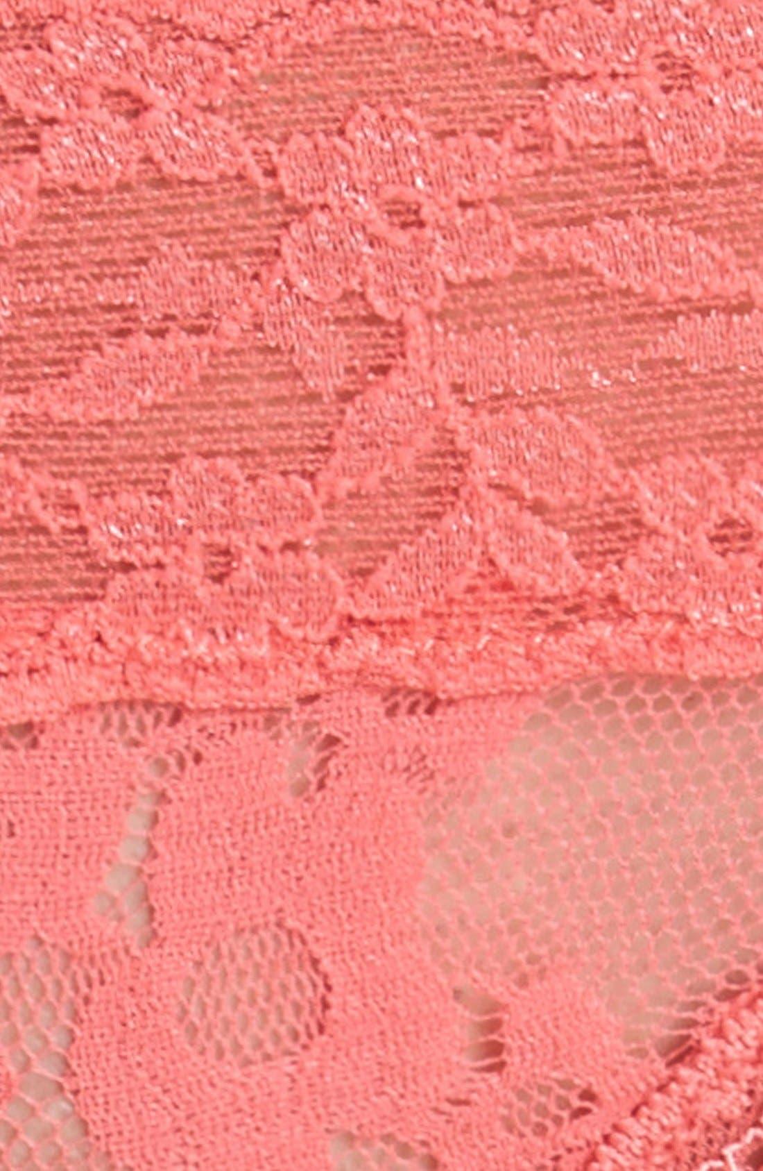 Lace Waist Thong,                             Alternate thumbnail 32, color,