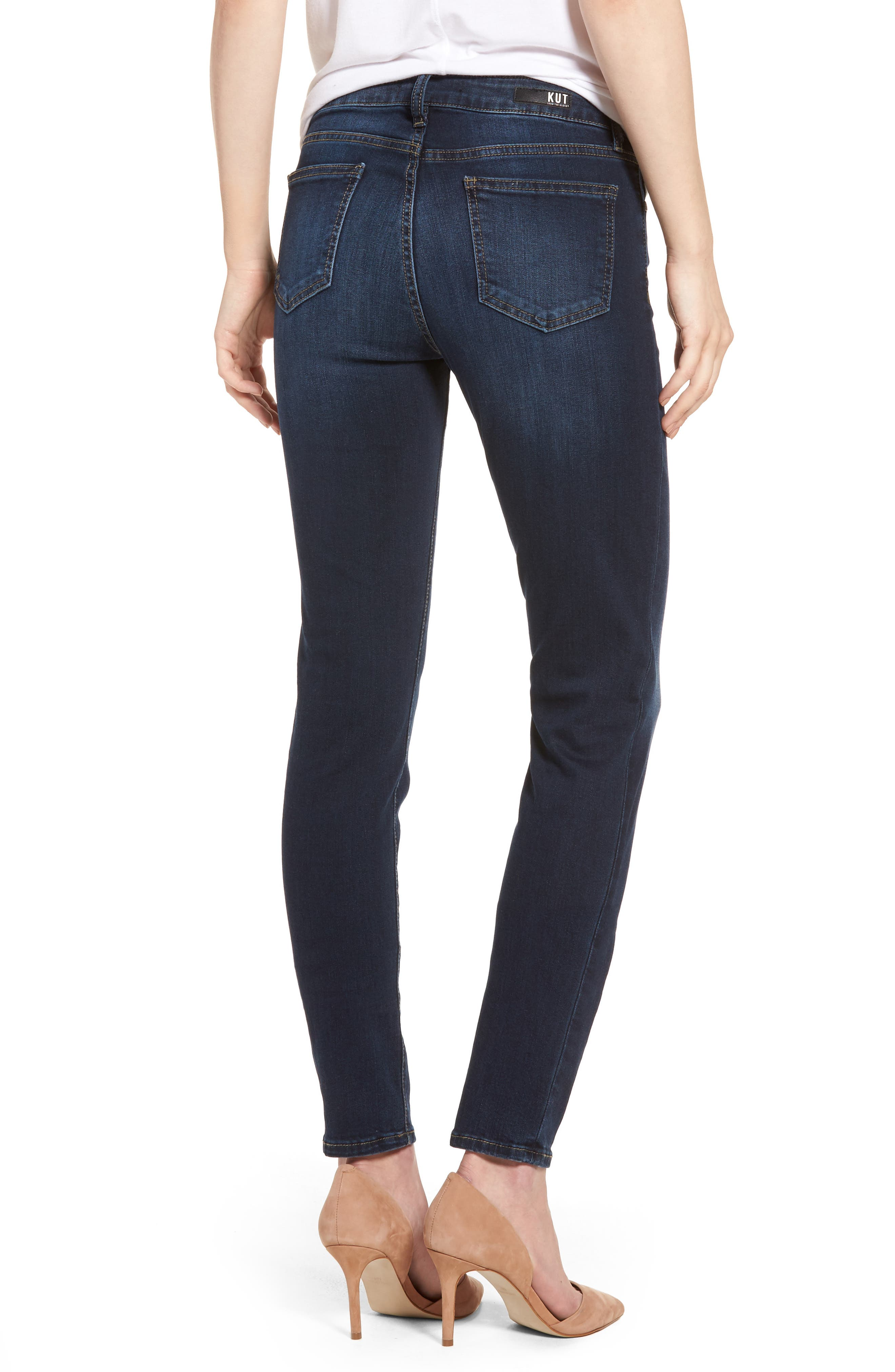 Diana Curvy Fit Skinny Jeans,                             Alternate thumbnail 2, color,