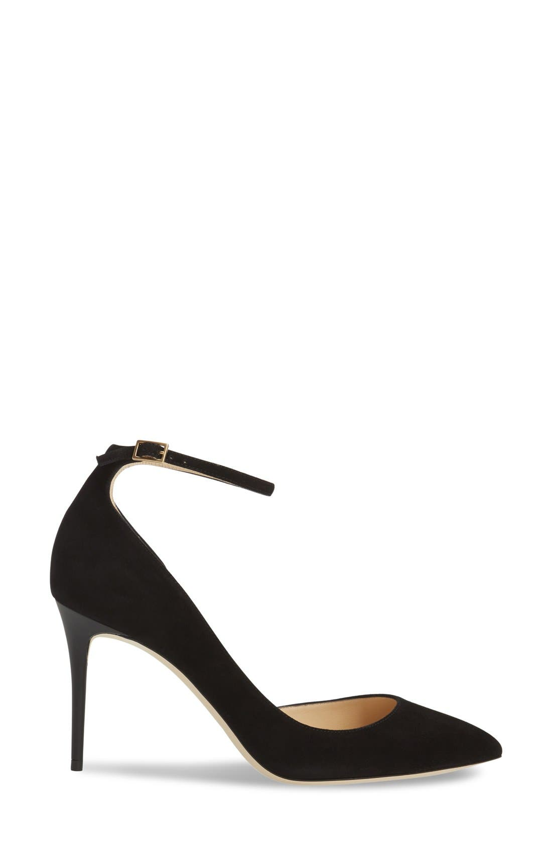 'Lucy' Half d'Orsay Pointy Toe Pump,                             Alternate thumbnail 18, color,