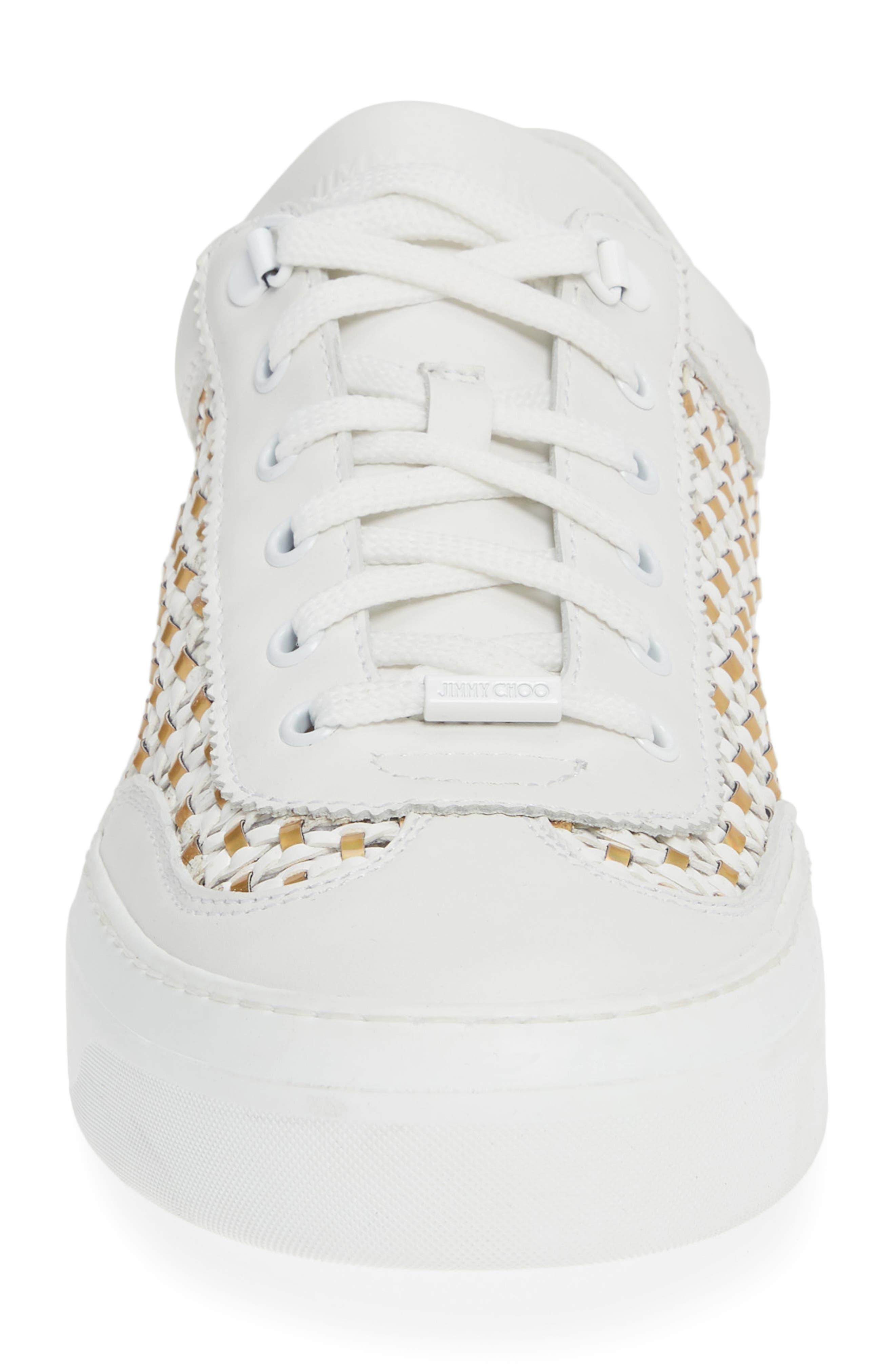 Ace Mux Sneaker,                             Alternate thumbnail 4, color,                             WHITE MIX