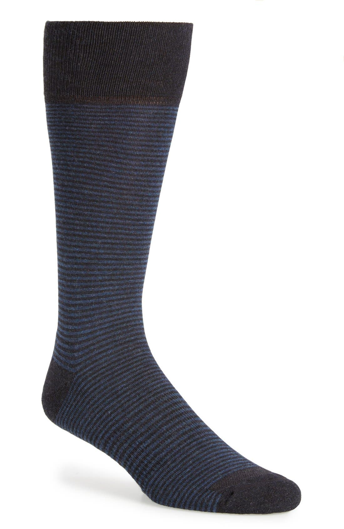 Feeder Stripe Socks,                             Main thumbnail 10, color,