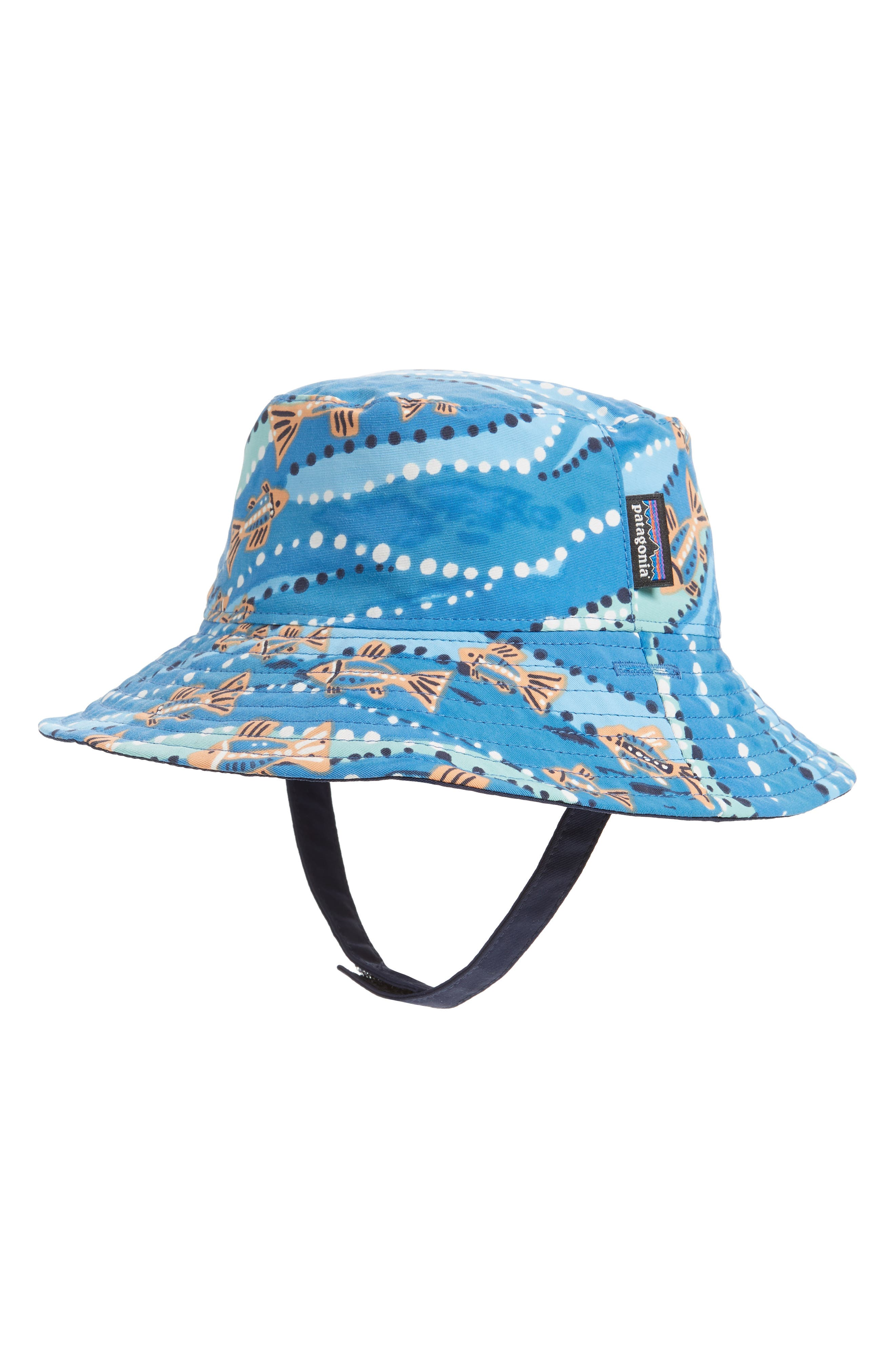 PATAGONIA,                             Bucket Hat,                             Main thumbnail 1, color,                             BELL BAY/ PORT BLUE