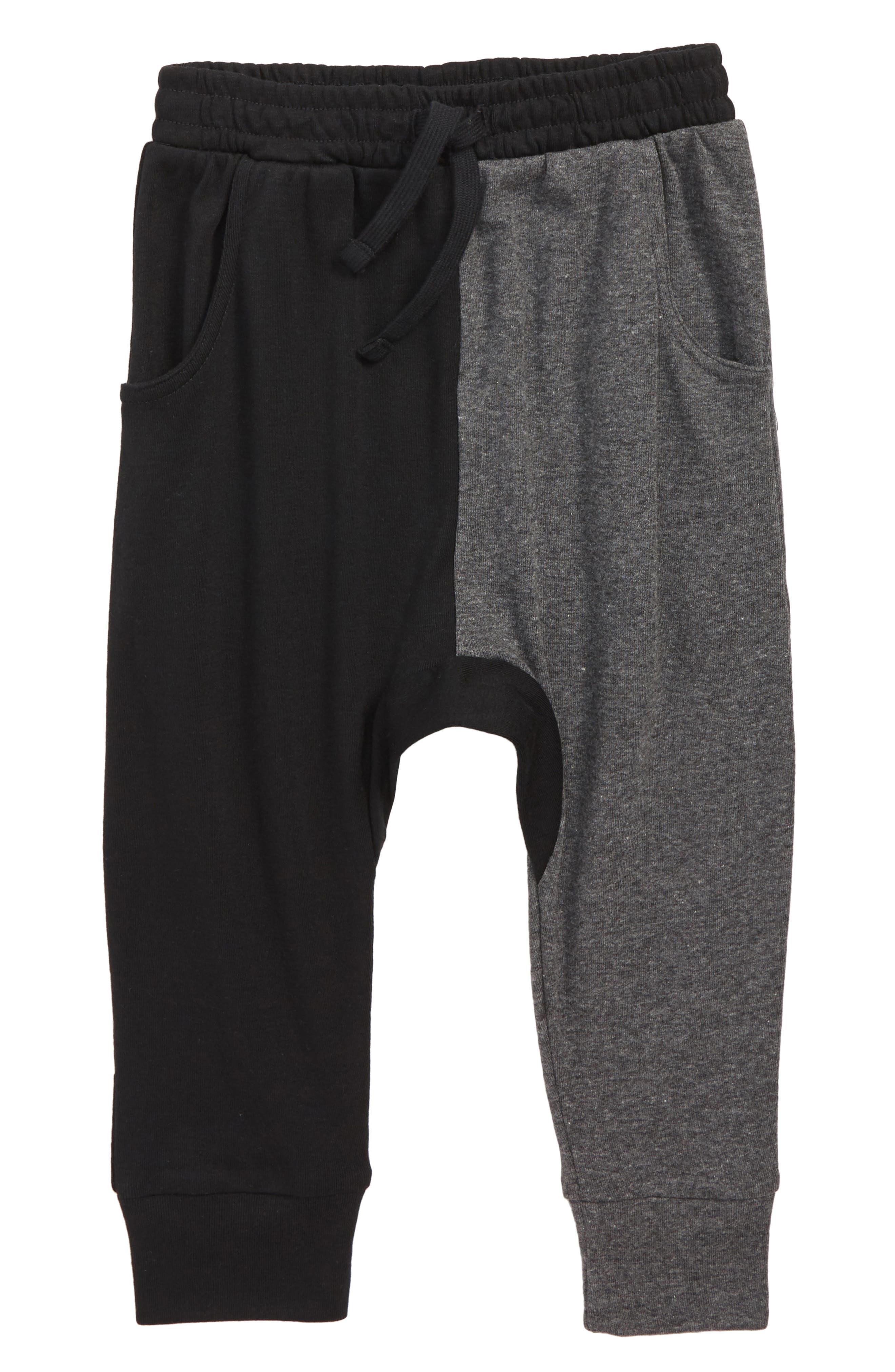 3 Diagonal Drop Jogger Pants,                         Main,                         color, 001